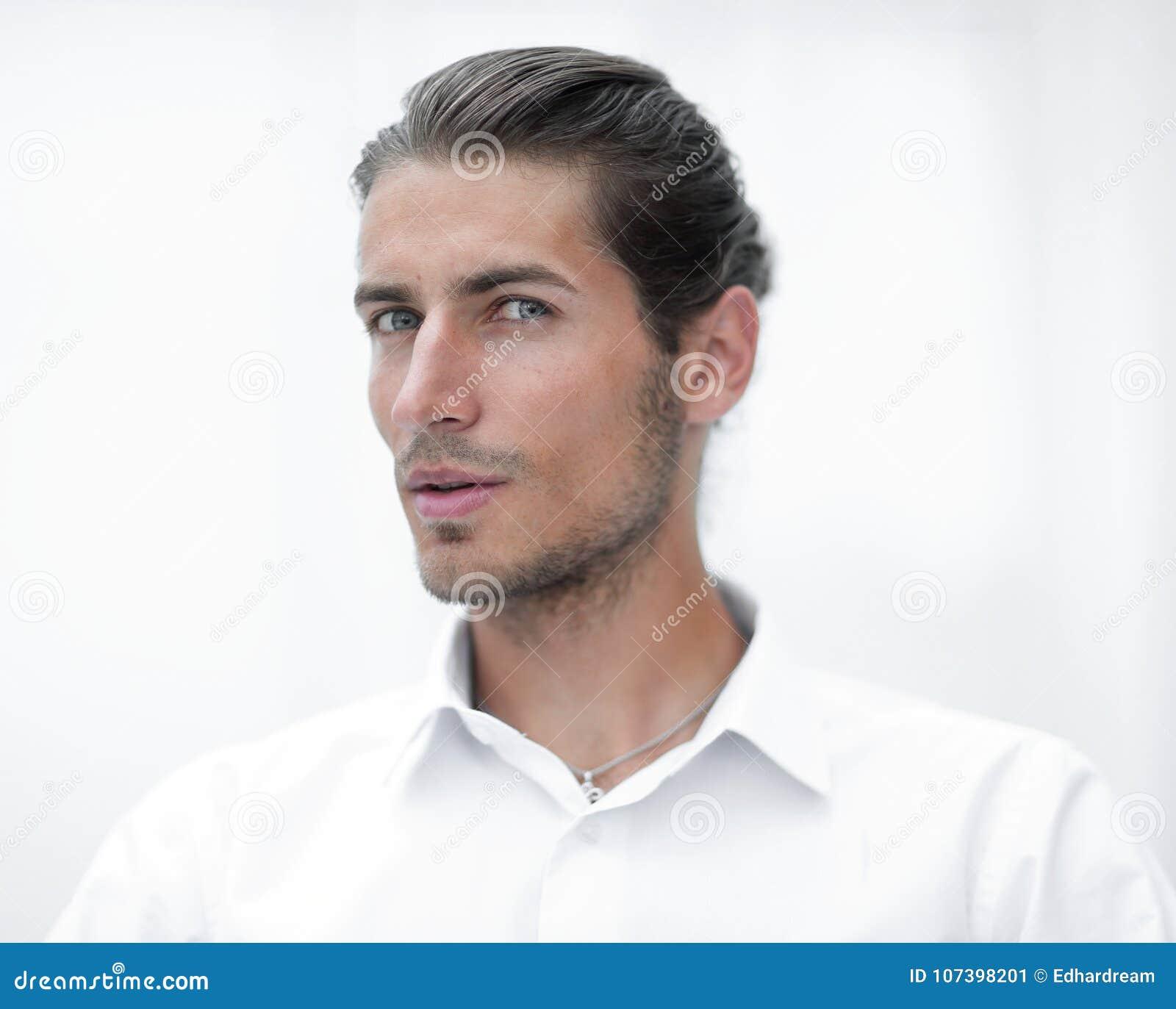 Closeup.face of beautiful business person.