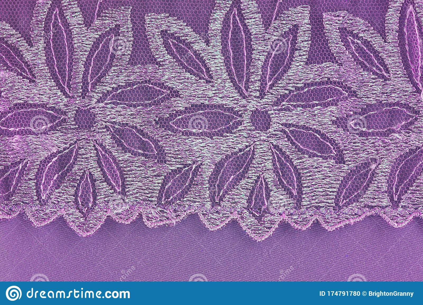 Flower Lace Stock Photo Image Of Crochet Banner Craftsmanship 174791780