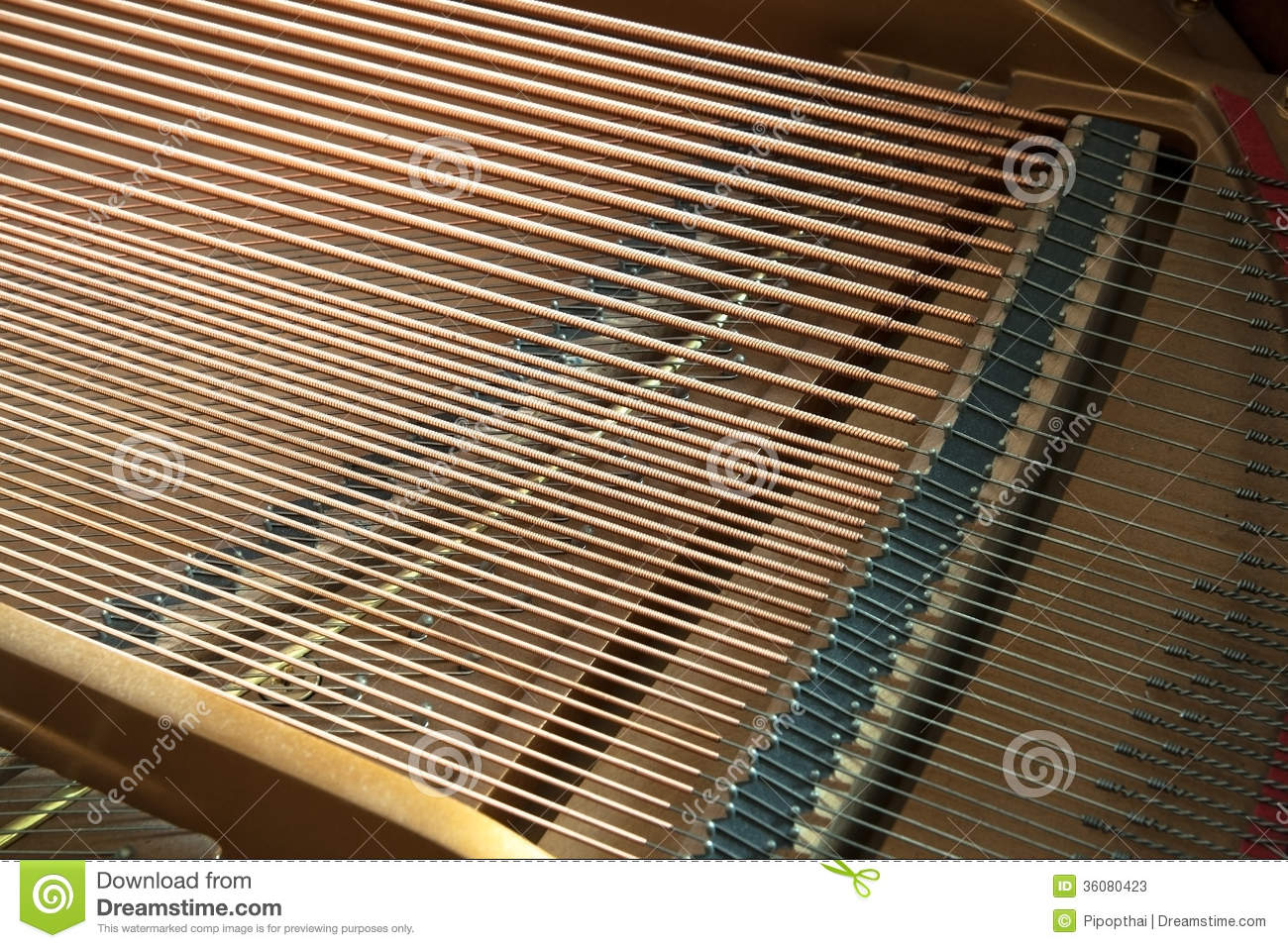 closeup of grand piano showing the strings pegs and sound board stock photos image 36080423. Black Bedroom Furniture Sets. Home Design Ideas