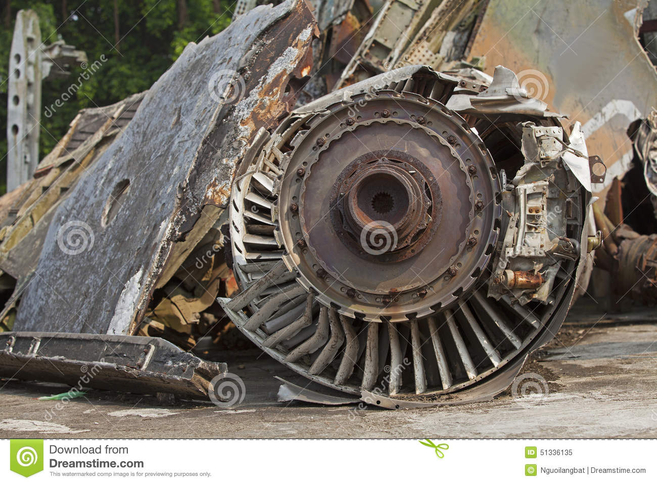 closeup of a jet engine of an american aircraft that was shot down stock image image 51336135. Black Bedroom Furniture Sets. Home Design Ideas