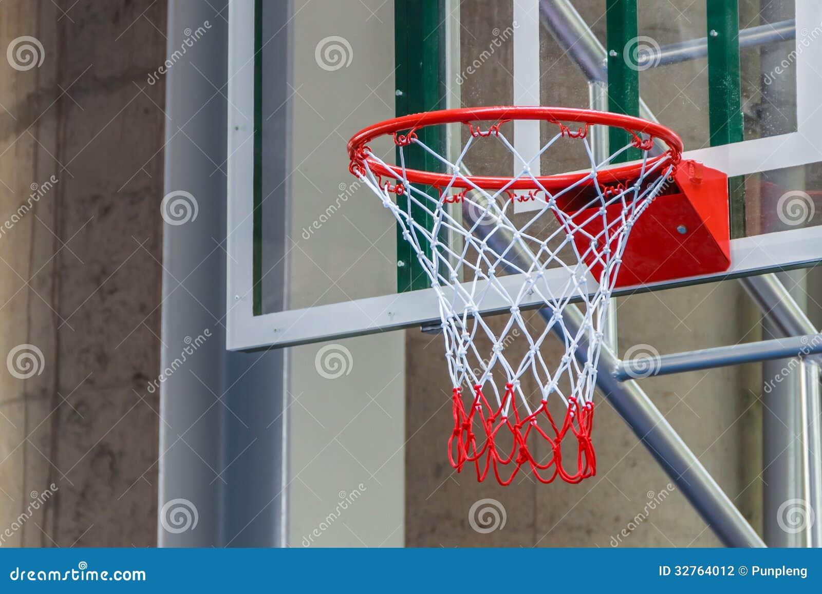 Closeup Of New Basketball Hoop Stock Photo - Image: 32764012