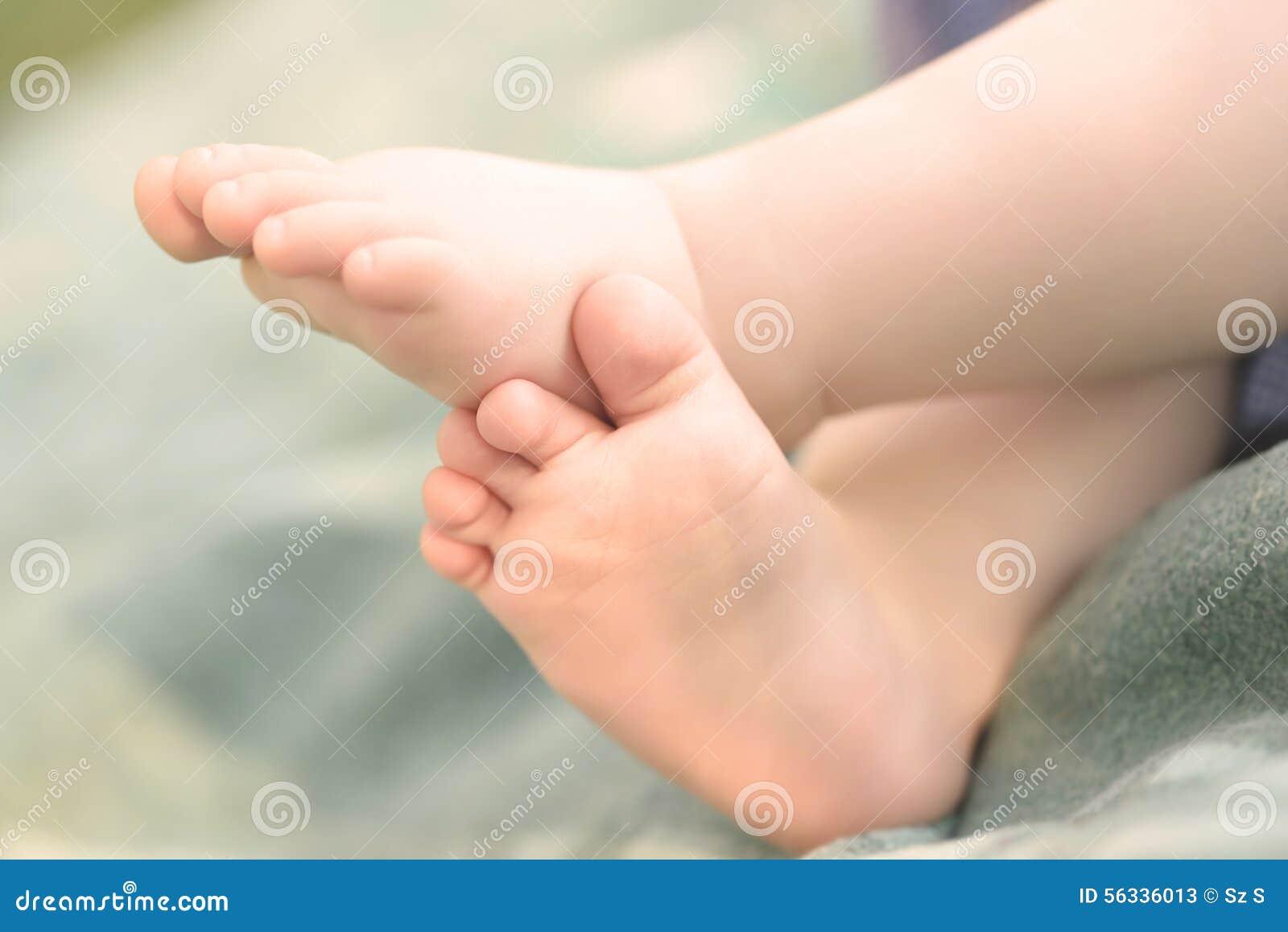 Closeup photo of baby legs Legs