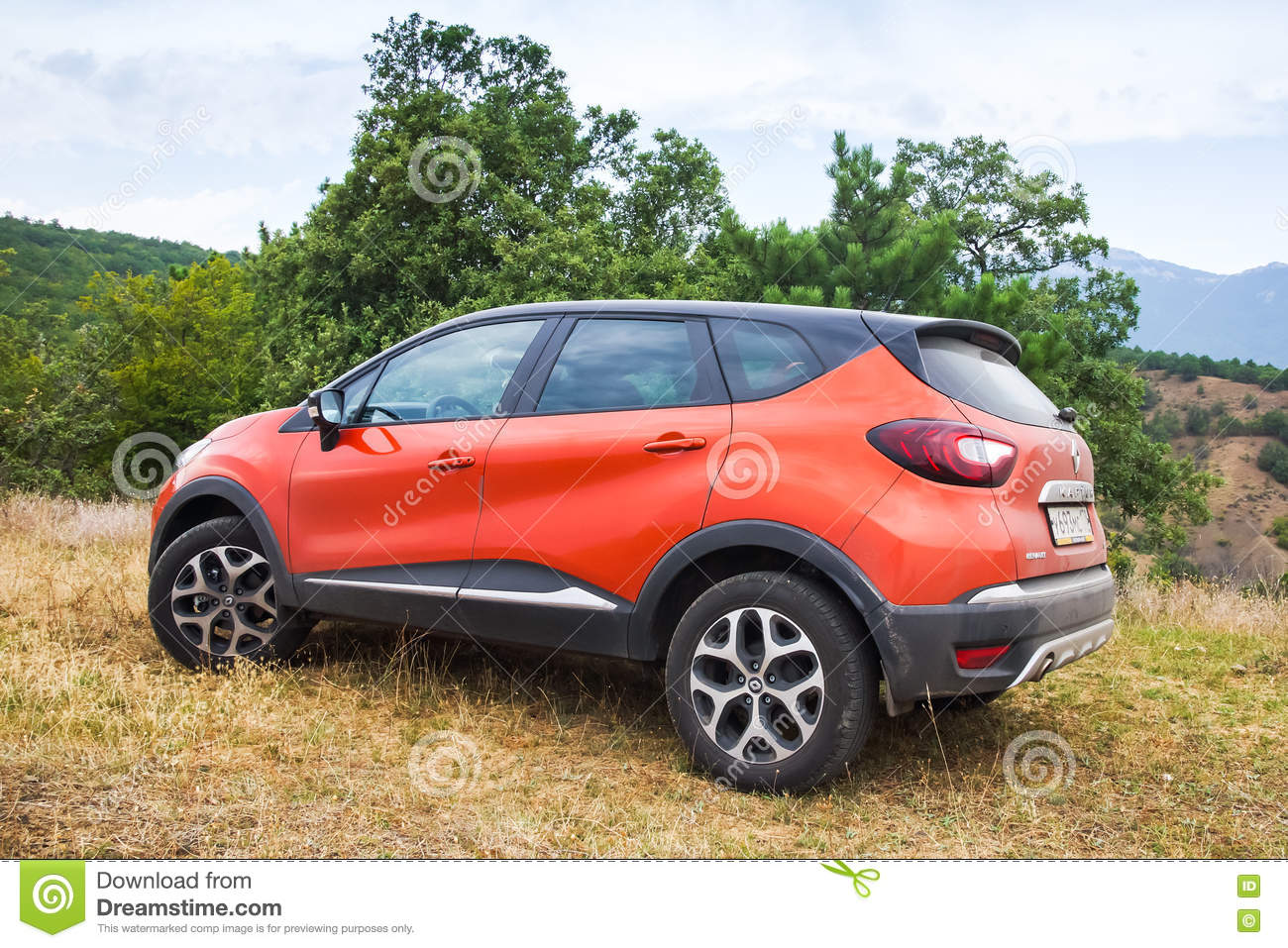 closeup photo of renault kaptur car editorial image. Black Bedroom Furniture Sets. Home Design Ideas