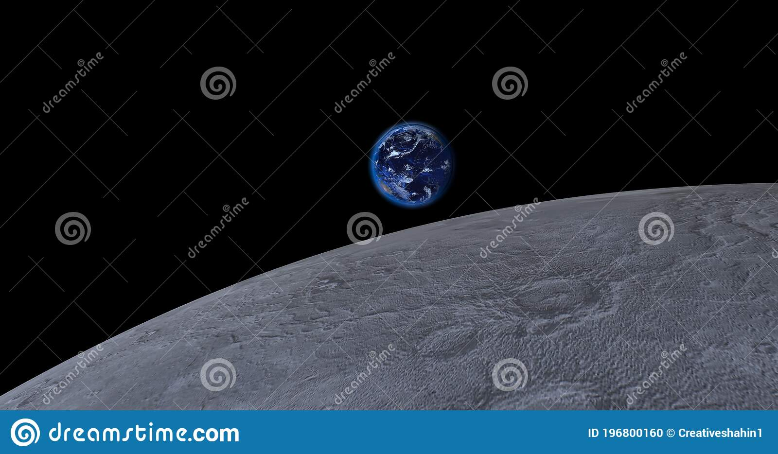 Closeup Planet Earth From Space Over 4k Resolution 3d Rendered Planet Earth Beautiful Blue Planet Earth Over 4k Resolution Stock Illustration Illustration Of Clouds Blue 196800160