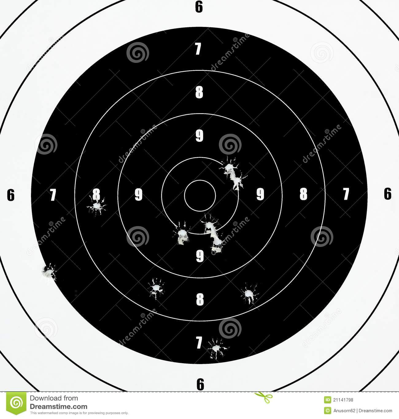 It's just an image of Striking Target Practice Sheets
