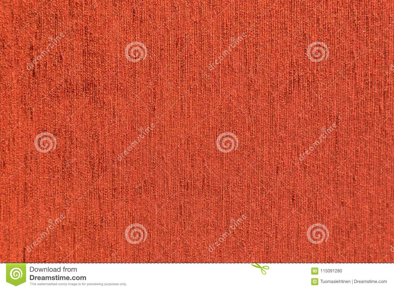 Closeup Of Red Furniture Fabric Texture Stock Photo Image Of
