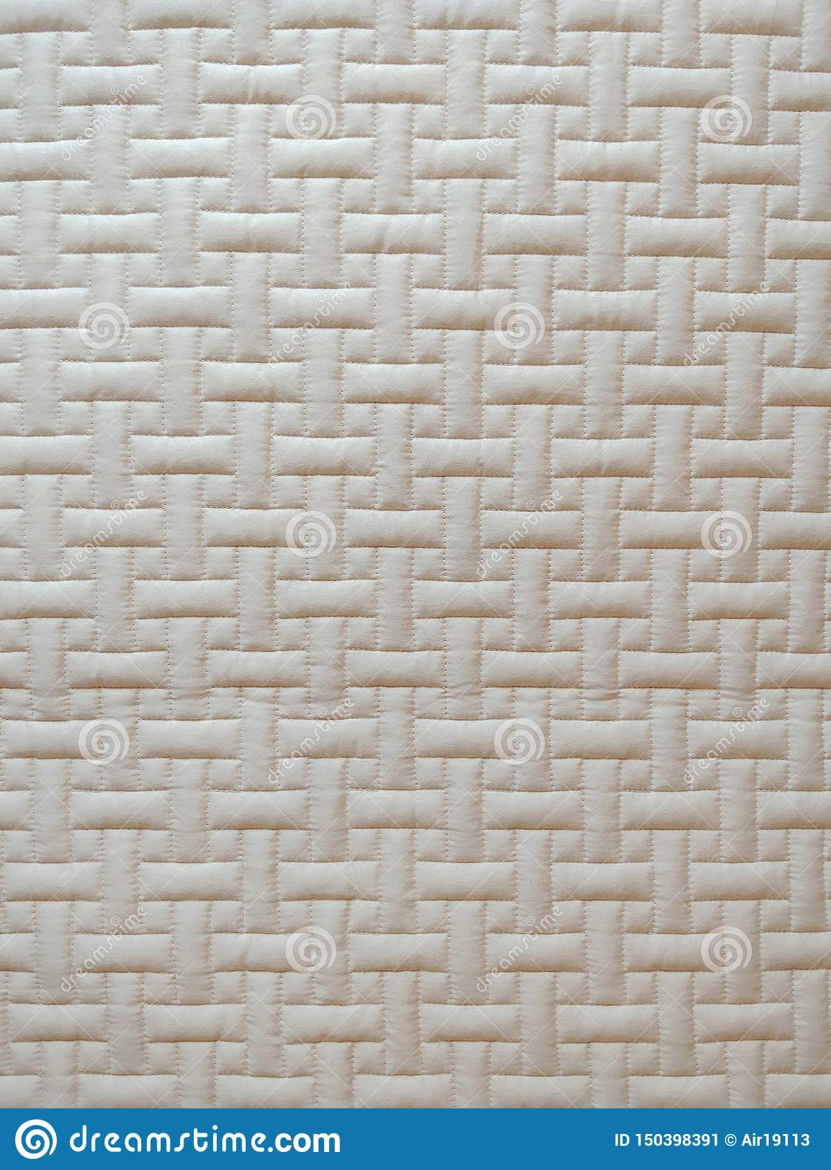 Closeup of sofa rectangle pattern texture background