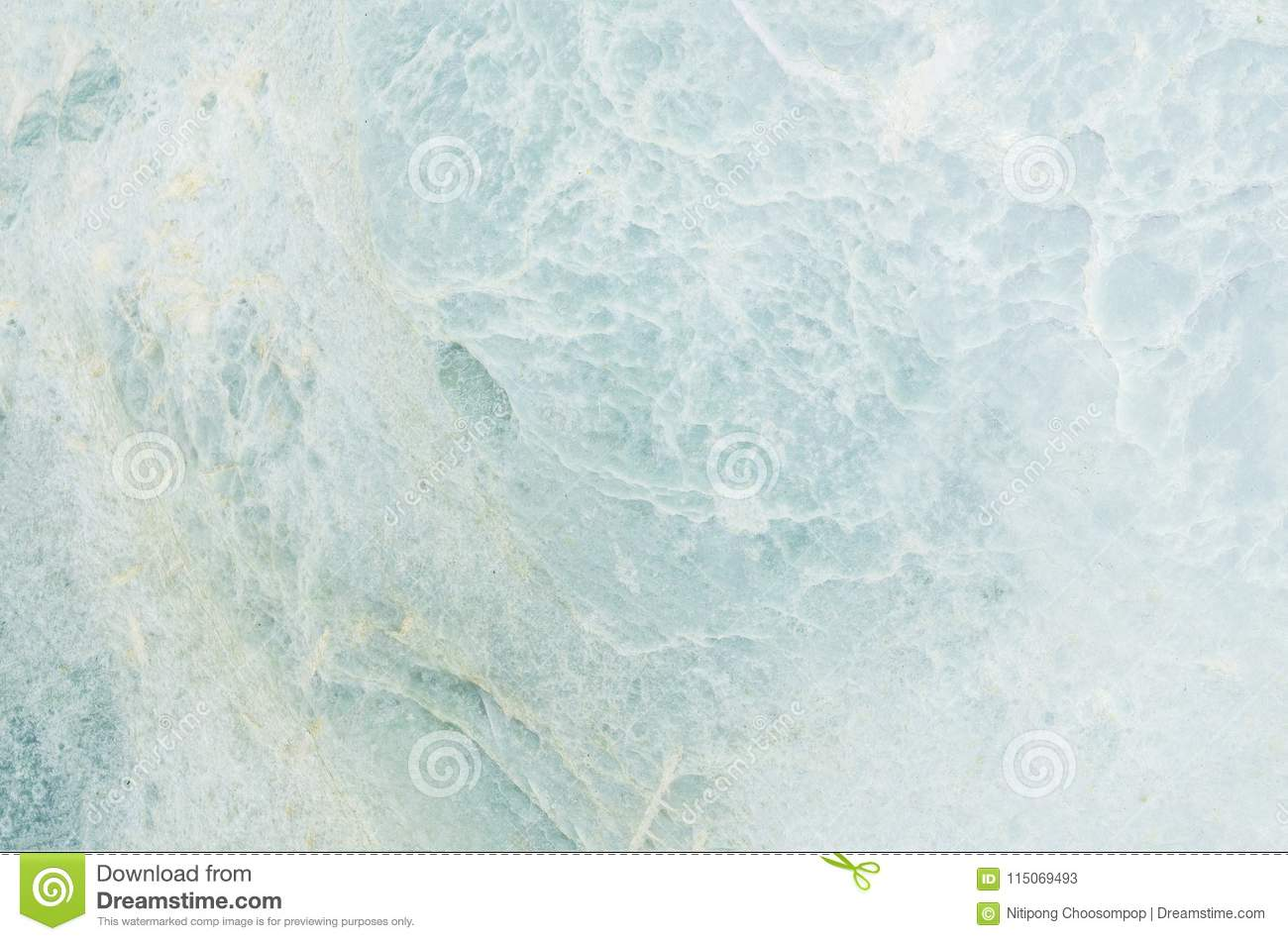 Closeup surface abstract marble pattern at the blue marble stone floor texture background