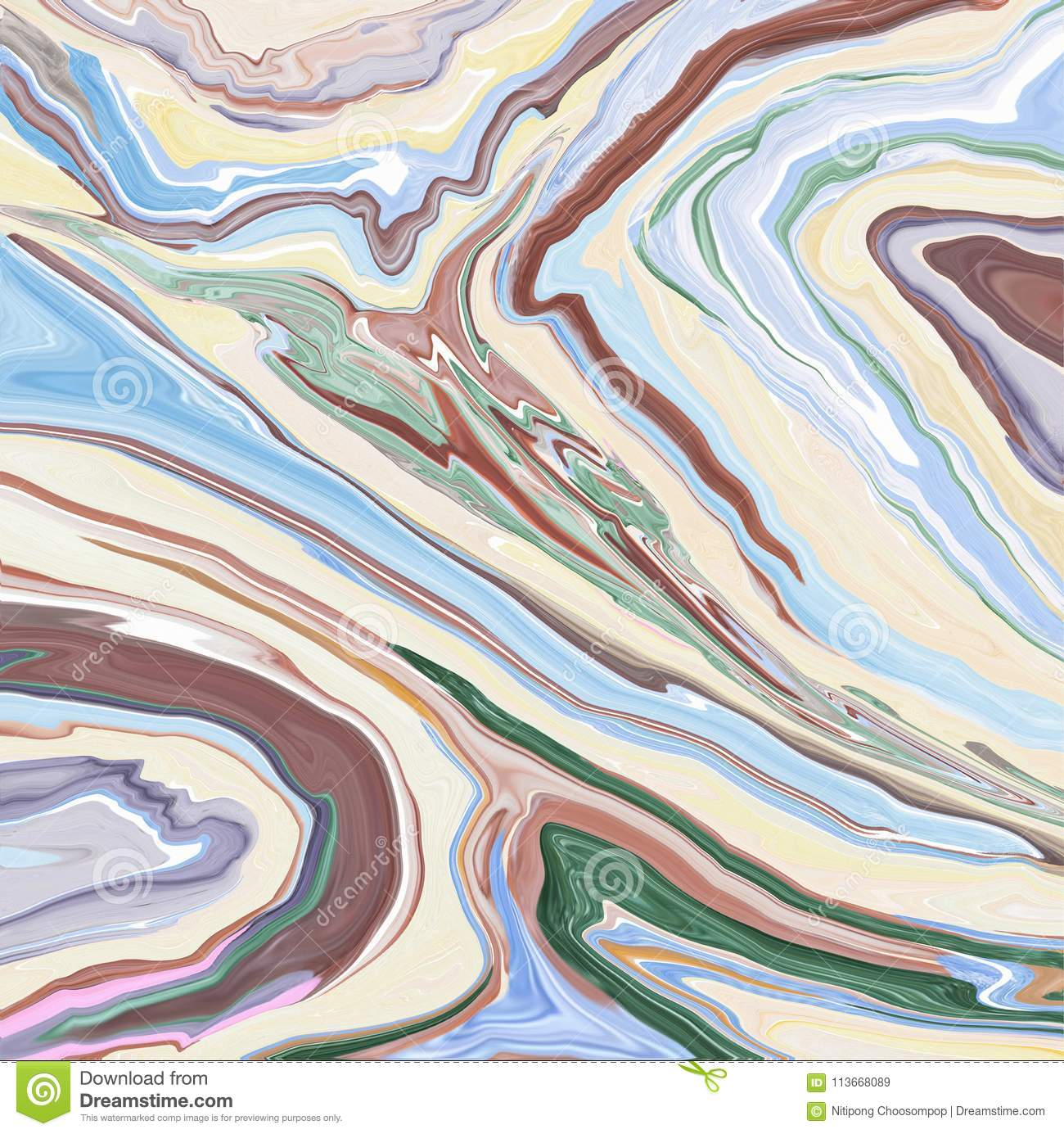 Closeup surface abstract marble pattern at the colorful marble stone floor texture background