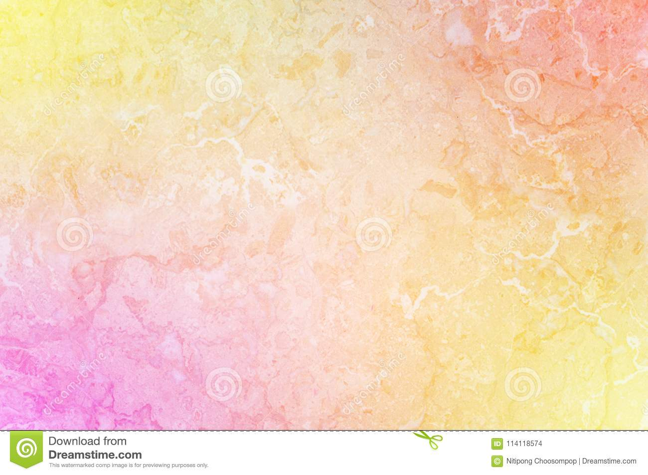 Closeup surface art tone abstract marble pattern at colorful marble stone wall texture background