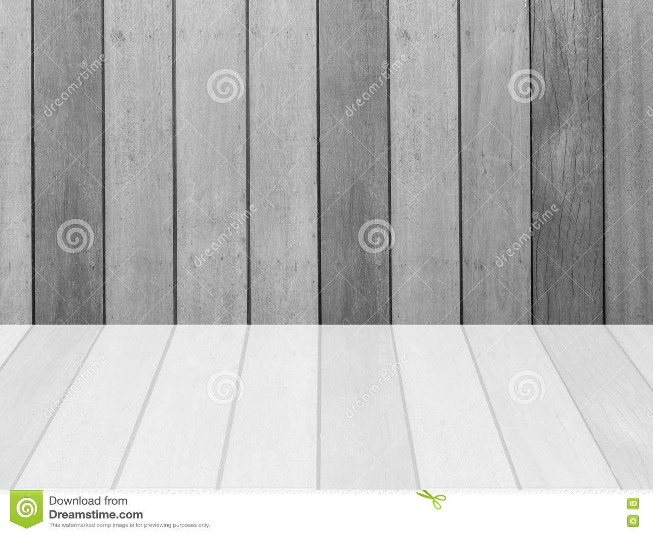 Closeup Surface Wood Pattern At The Old Wood Wall Texture Background