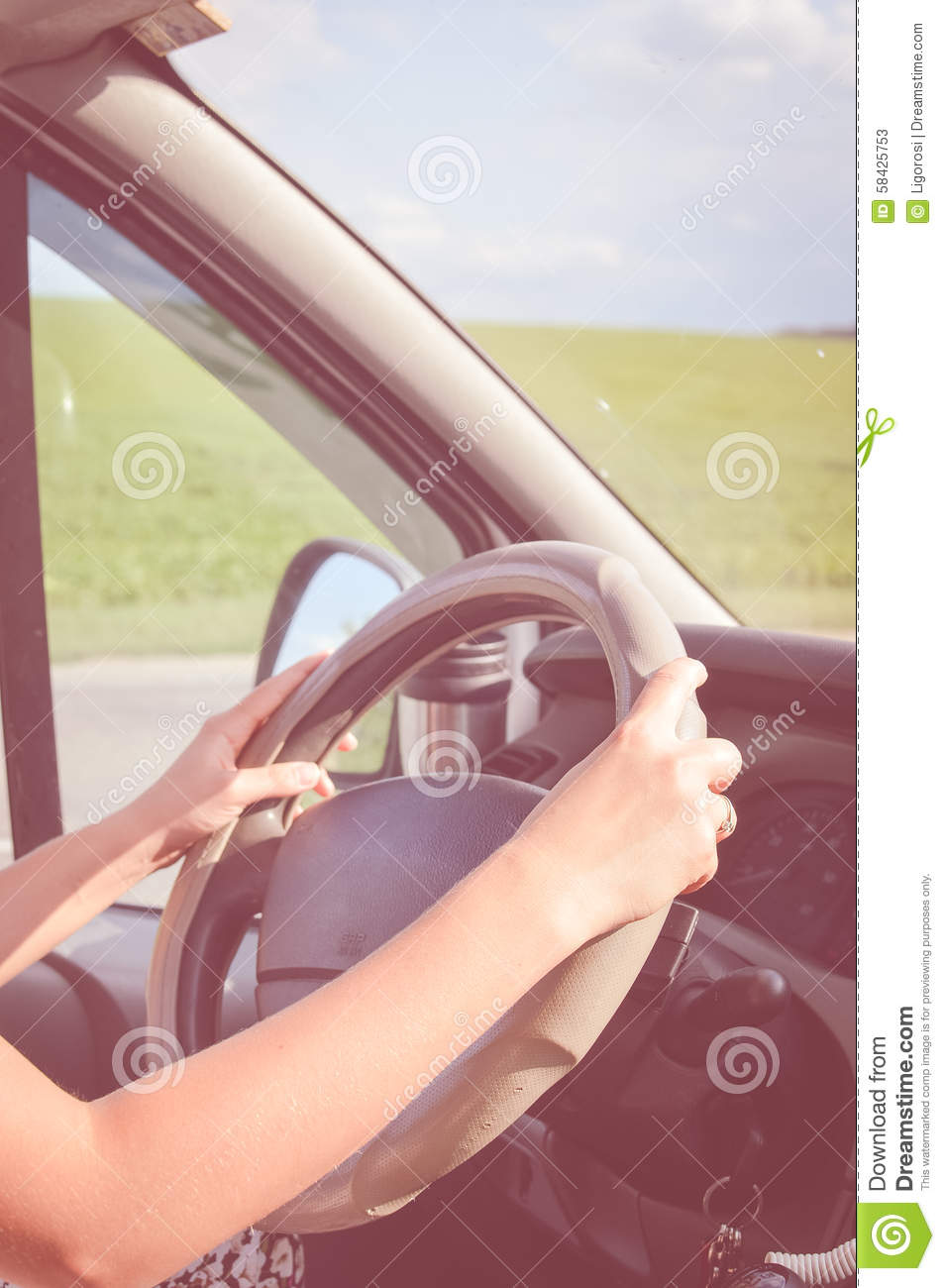 hand of driver holding steering wheel driving fast speed motion stock image. Black Bedroom Furniture Sets. Home Design Ideas