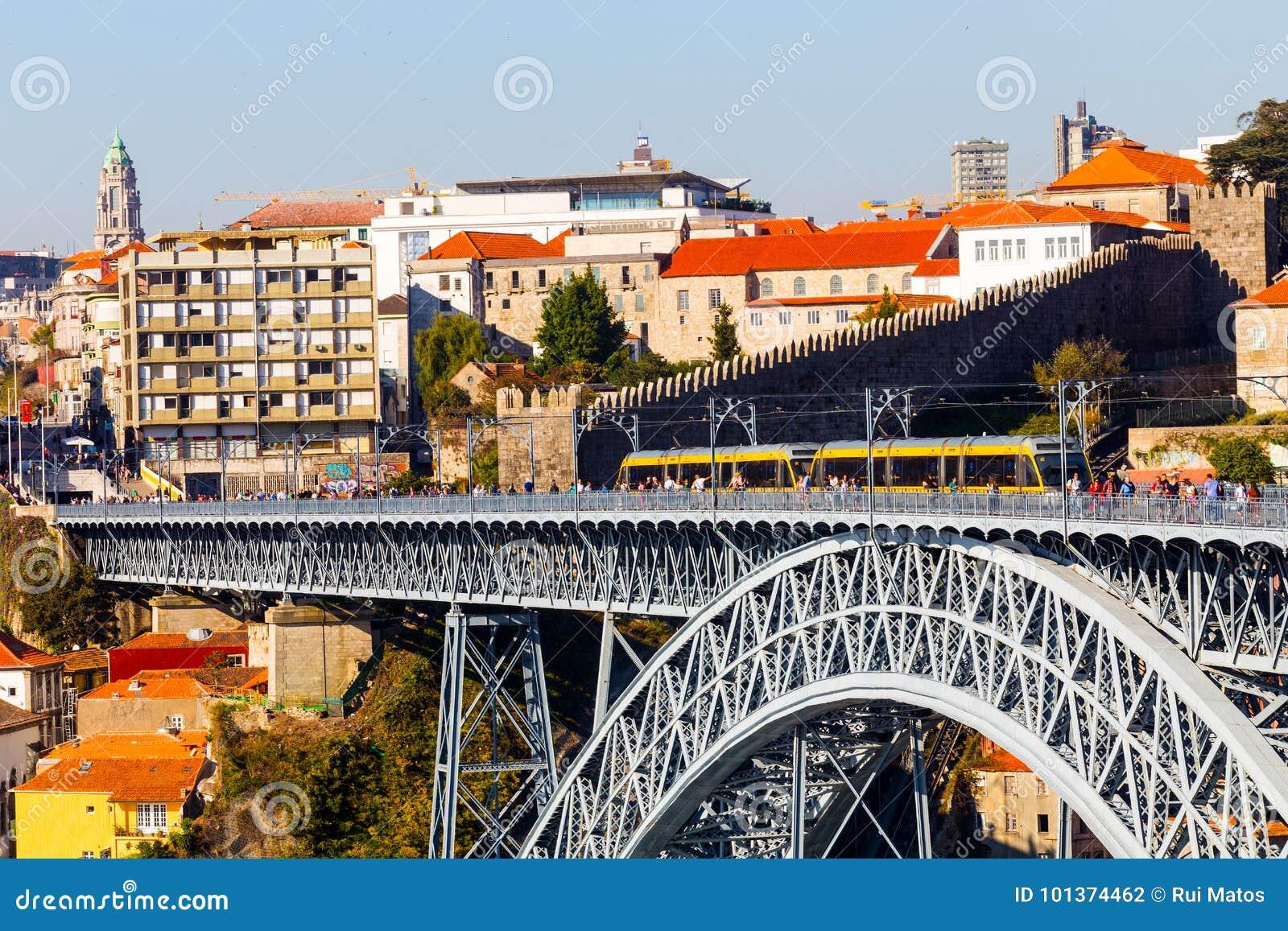 Bridge D. Luis I, Porto, Portugal
