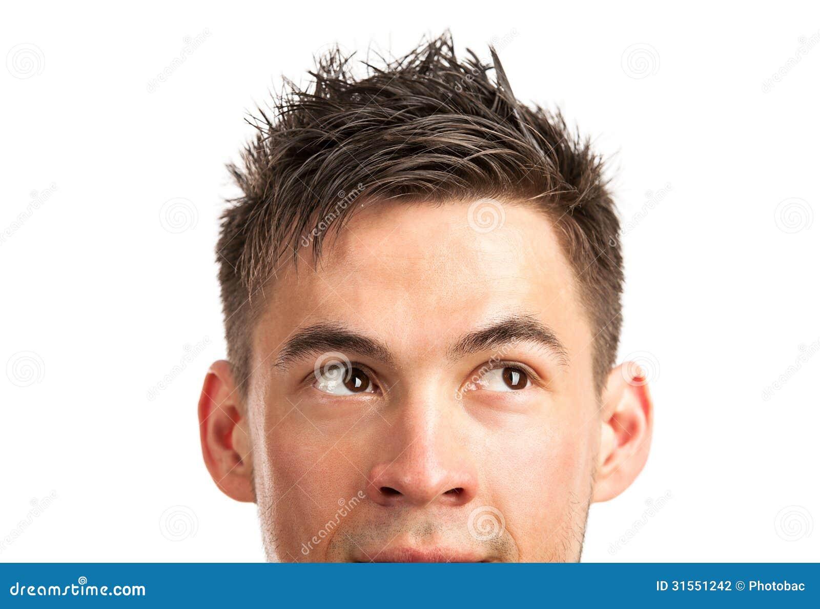 Мужская прическа если торчат уши
