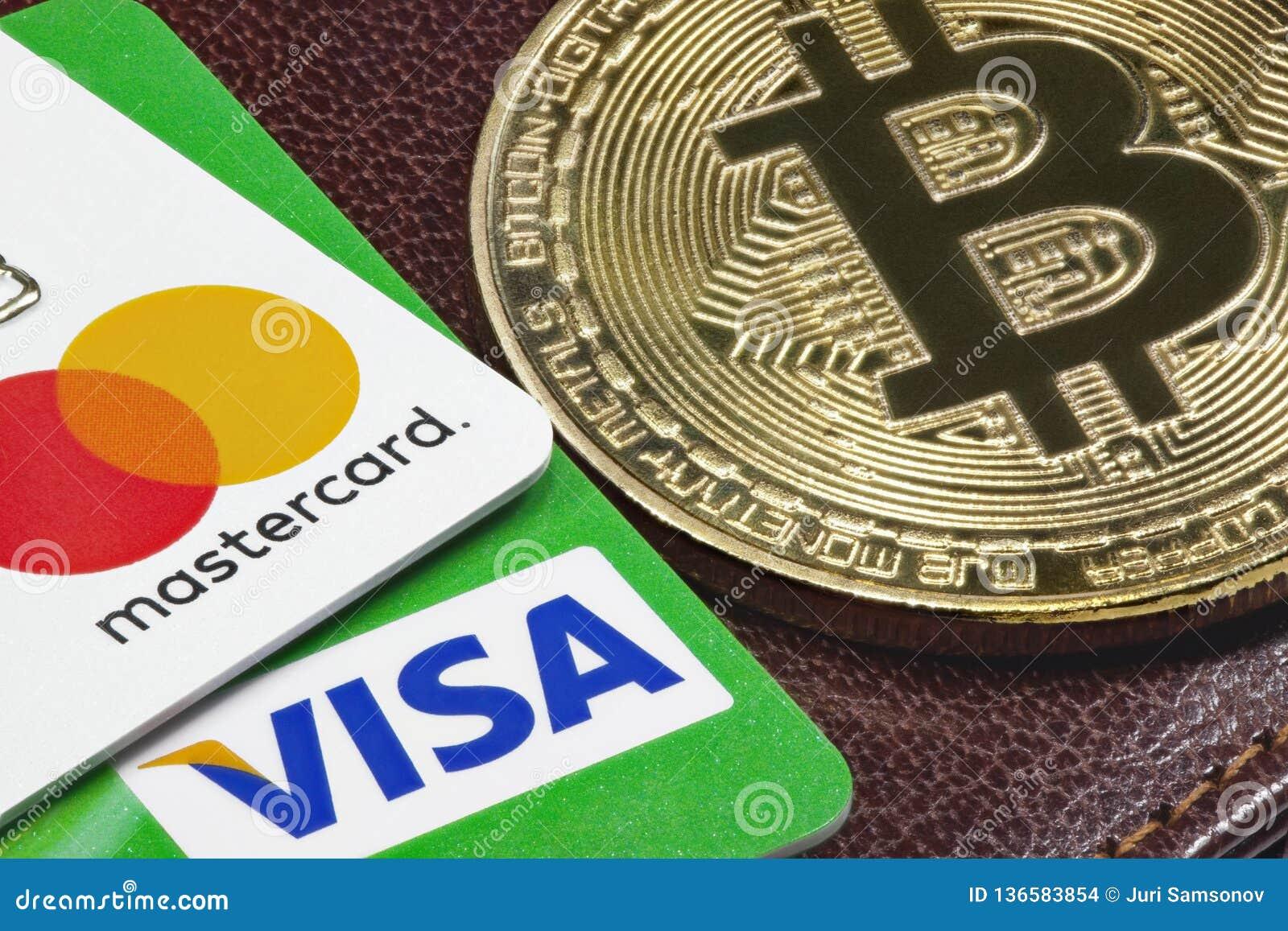 bitcoin visa mastercard yra geros btc rinka