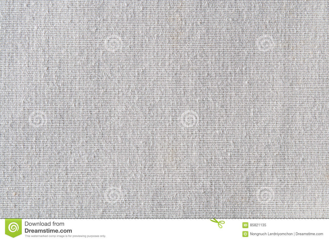 Closeup White Or Light Grey Color Fabric Texture
