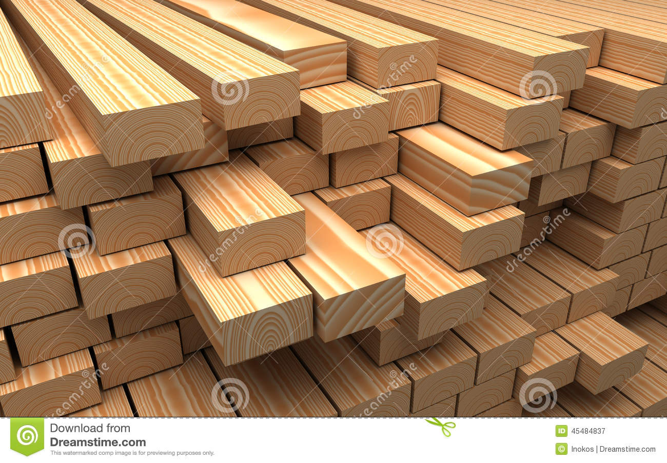 Wooden sawmill materials warehouse construction royalty - Material de construccion ...