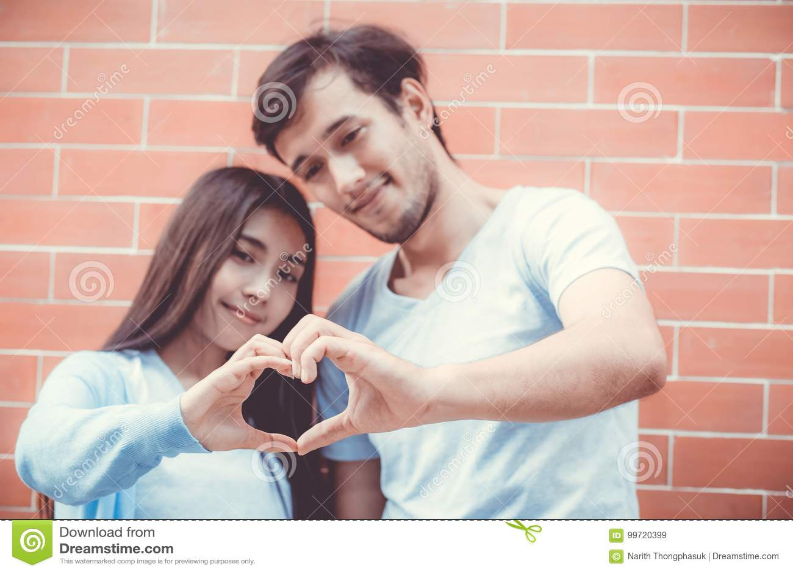 Asian women making love