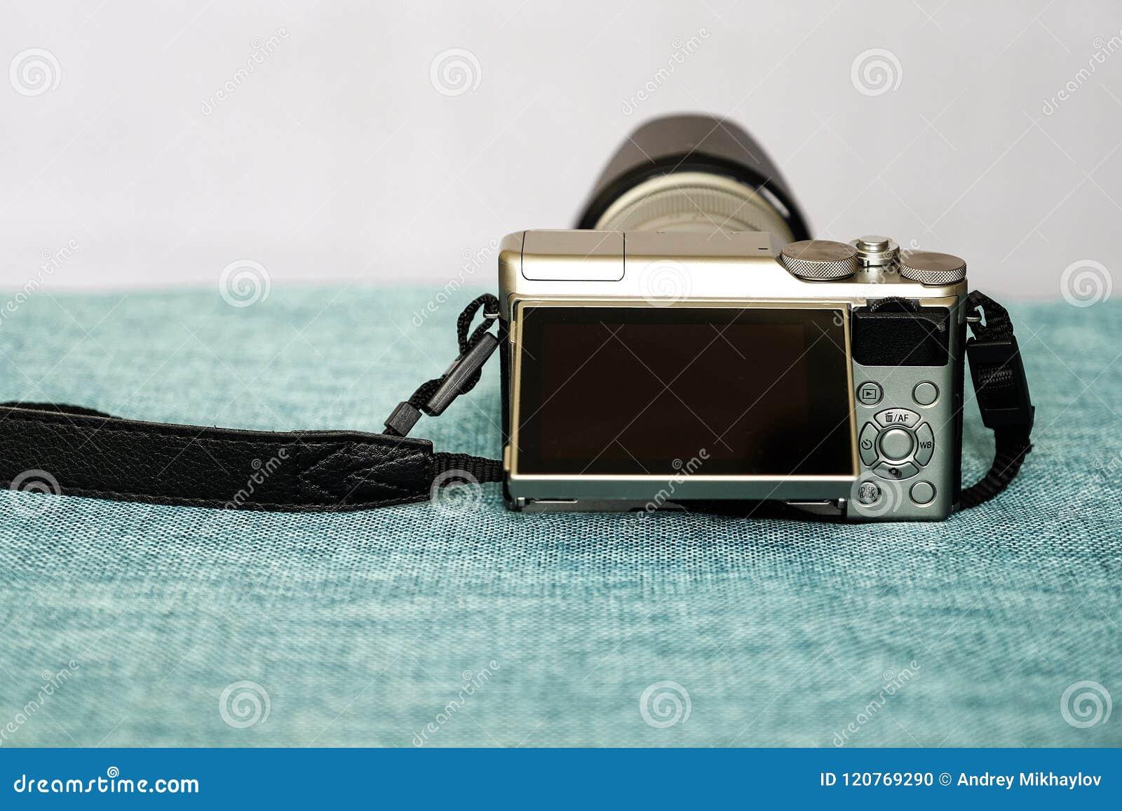 Closeupsikt av den digitala kameran
