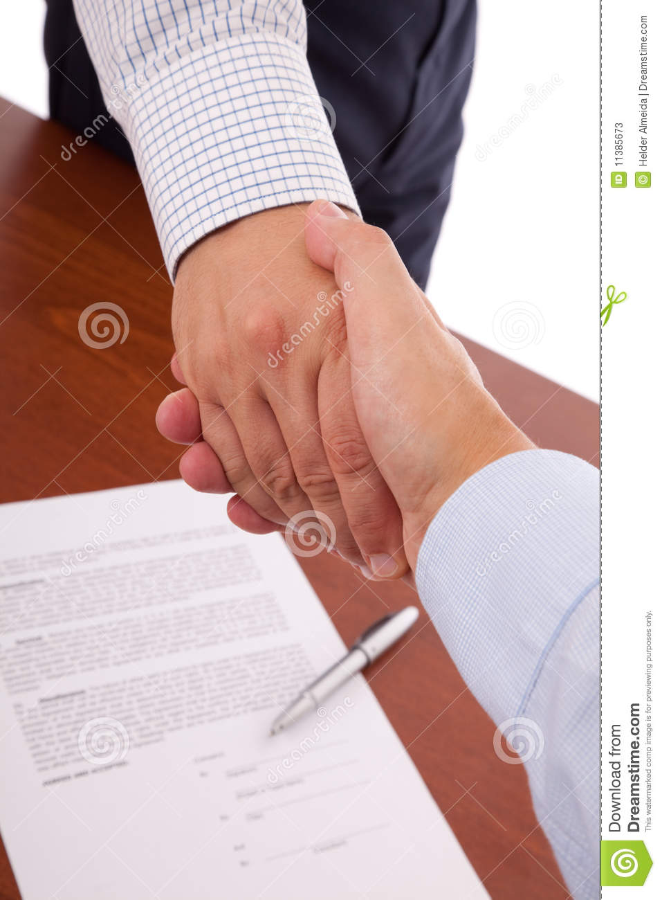 Closing the contract