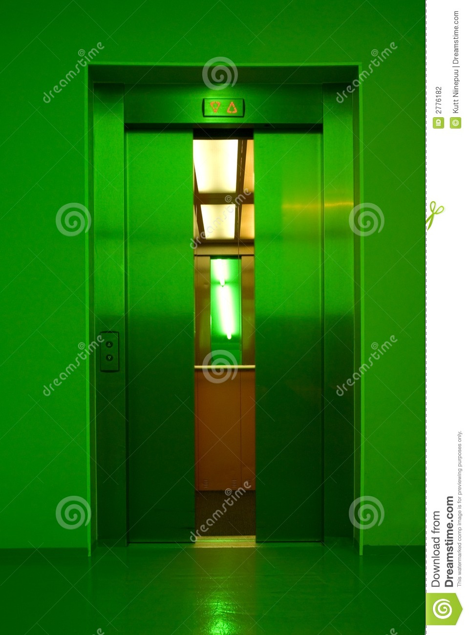My Ford Credit >> Closing Elevator Doors Stock Photography - Image: 2776182