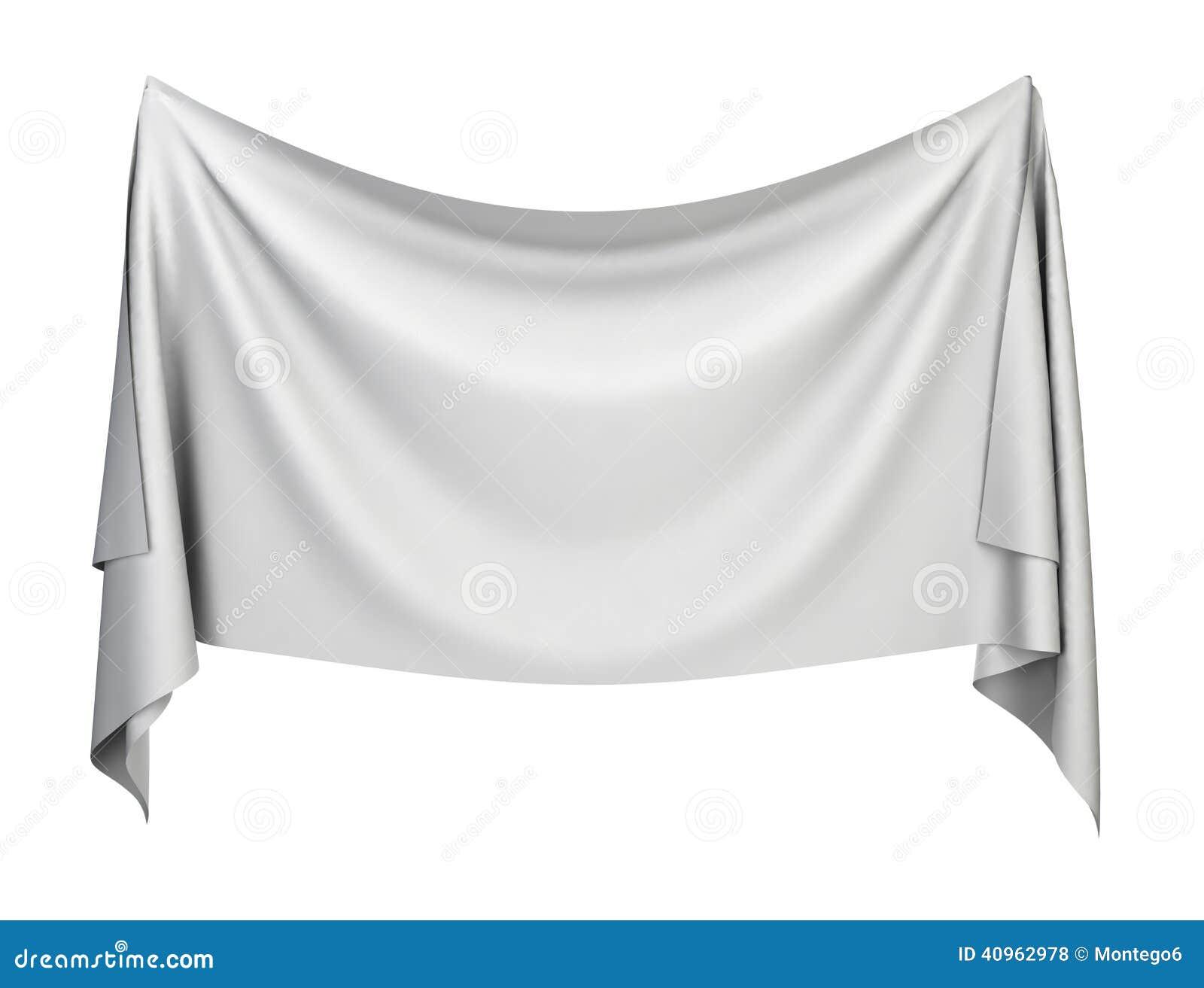 cloth banner stock illustration image 40962978