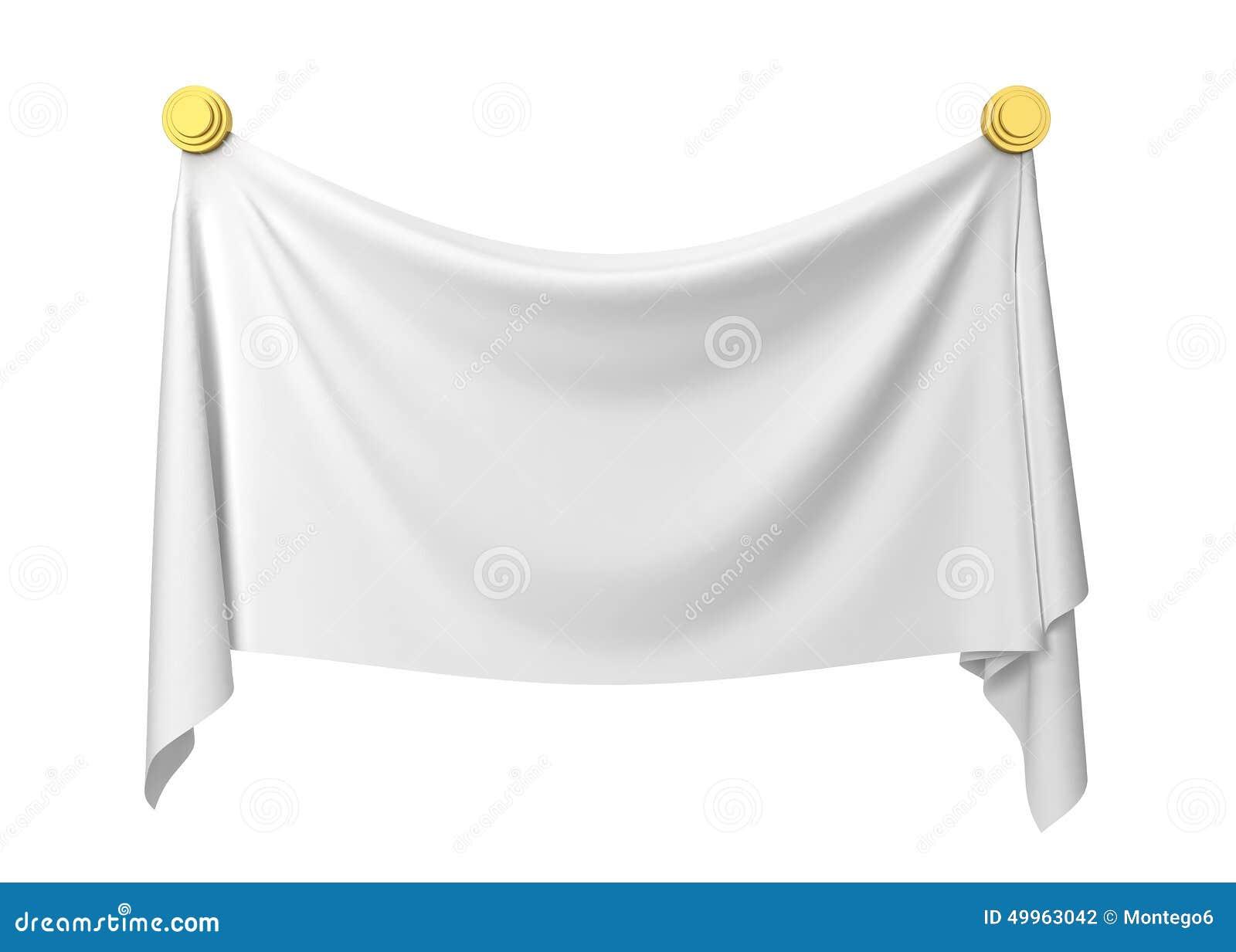 cloth banner stock illustration image 49963042