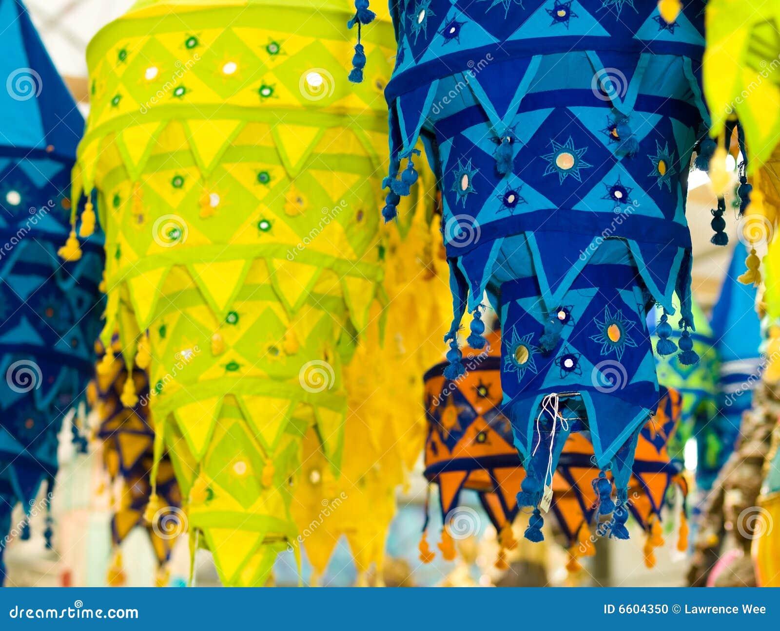 Cloth Lanterns Stock Photo Image Of Deepavali Fabric