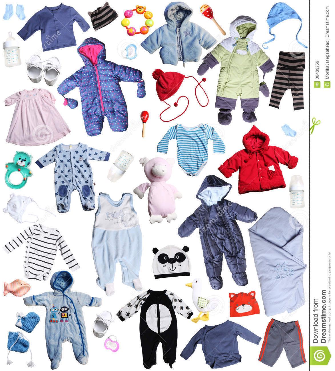 Clothes For Children Royalty Free Stock Images Image