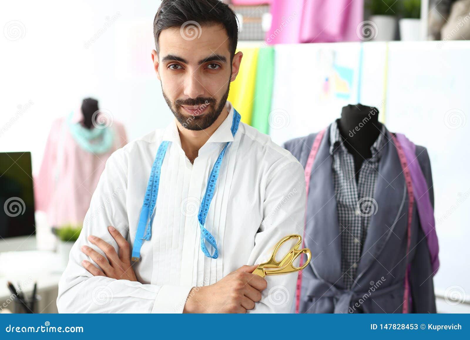 Clothes Creating Modern Studio Trendy Designer Job Stock Image Image Of Middle Design 147828453