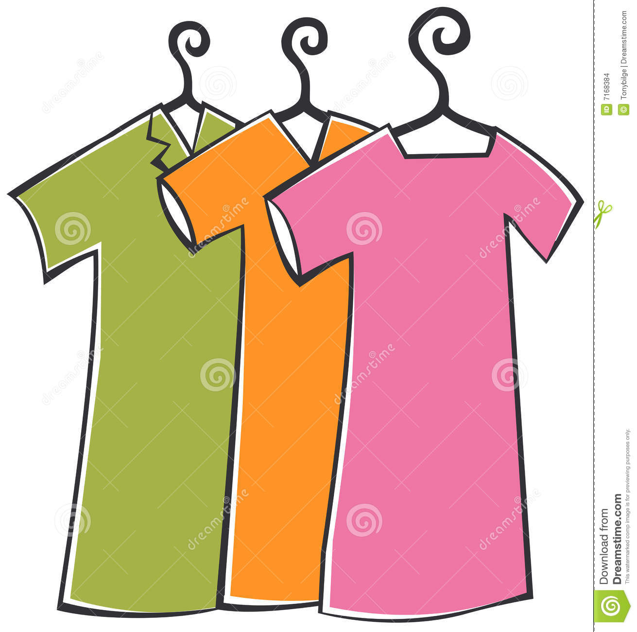clipart hanging clothes - photo #18