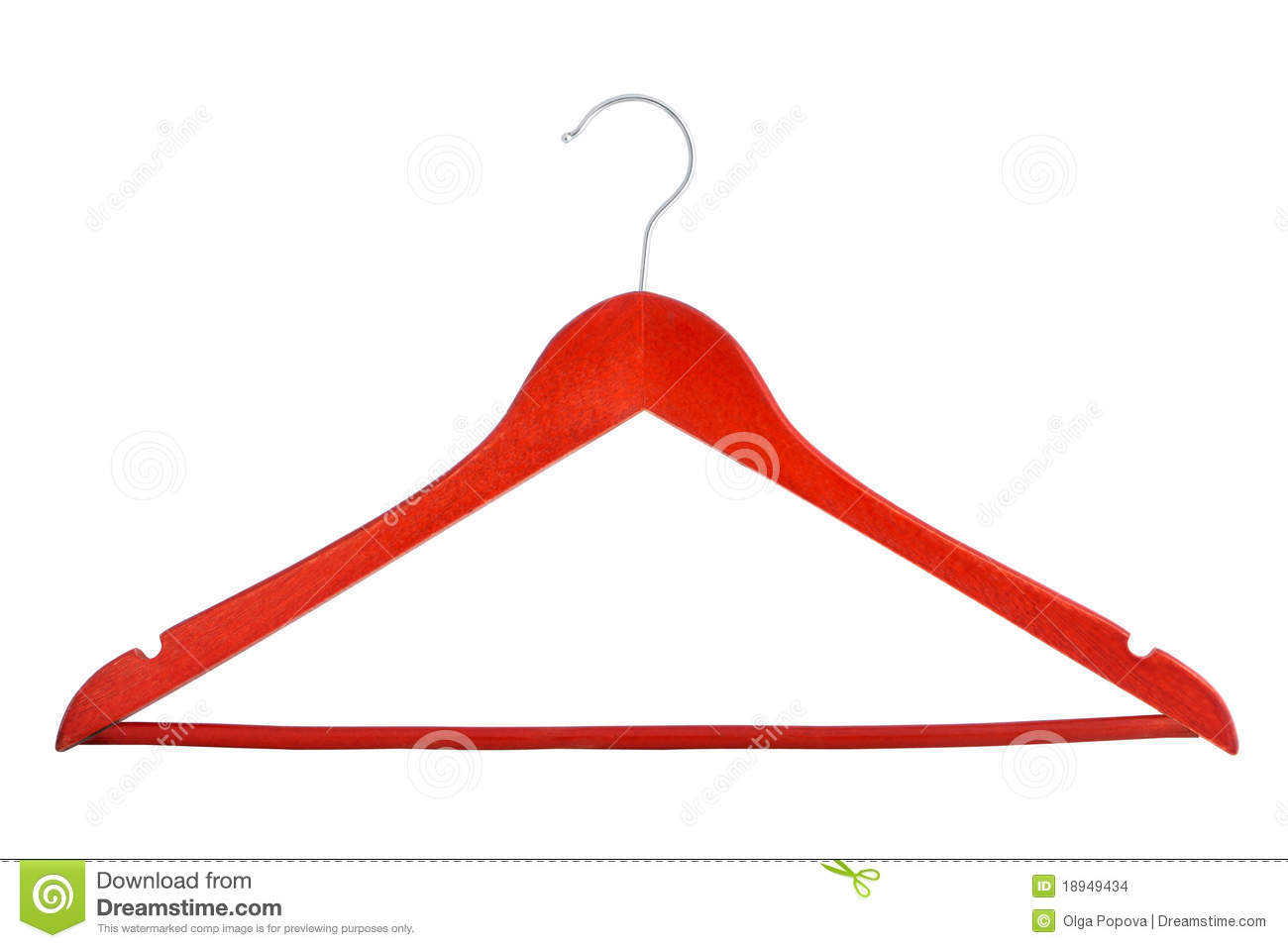 Clothes Hangers Stock Photo Image Of Hollow Hanger
