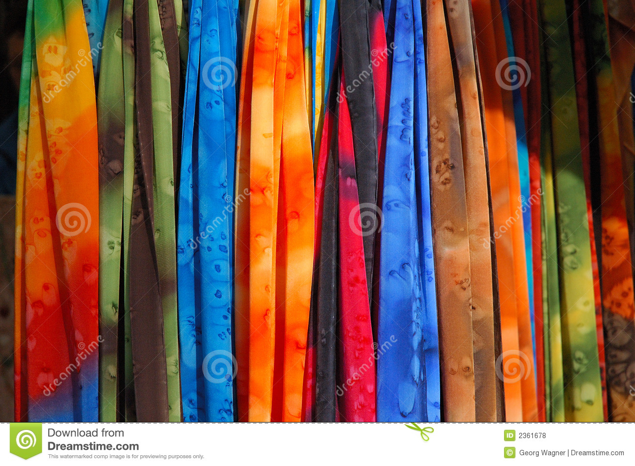Clothes At A Market Stand Royalty Free Stock Photos ...