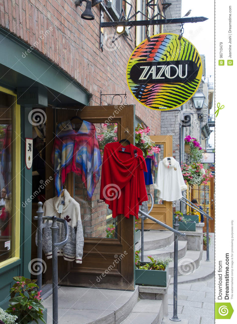 Clothes Stores In Old Quebec Editorial Stock Image - Image of model on winnipeg canada stores, alberta canada stores, new york stores, brazil stores, south carolina stores, quebec art, windsor canada stores, france stores, ottawa canada stores,