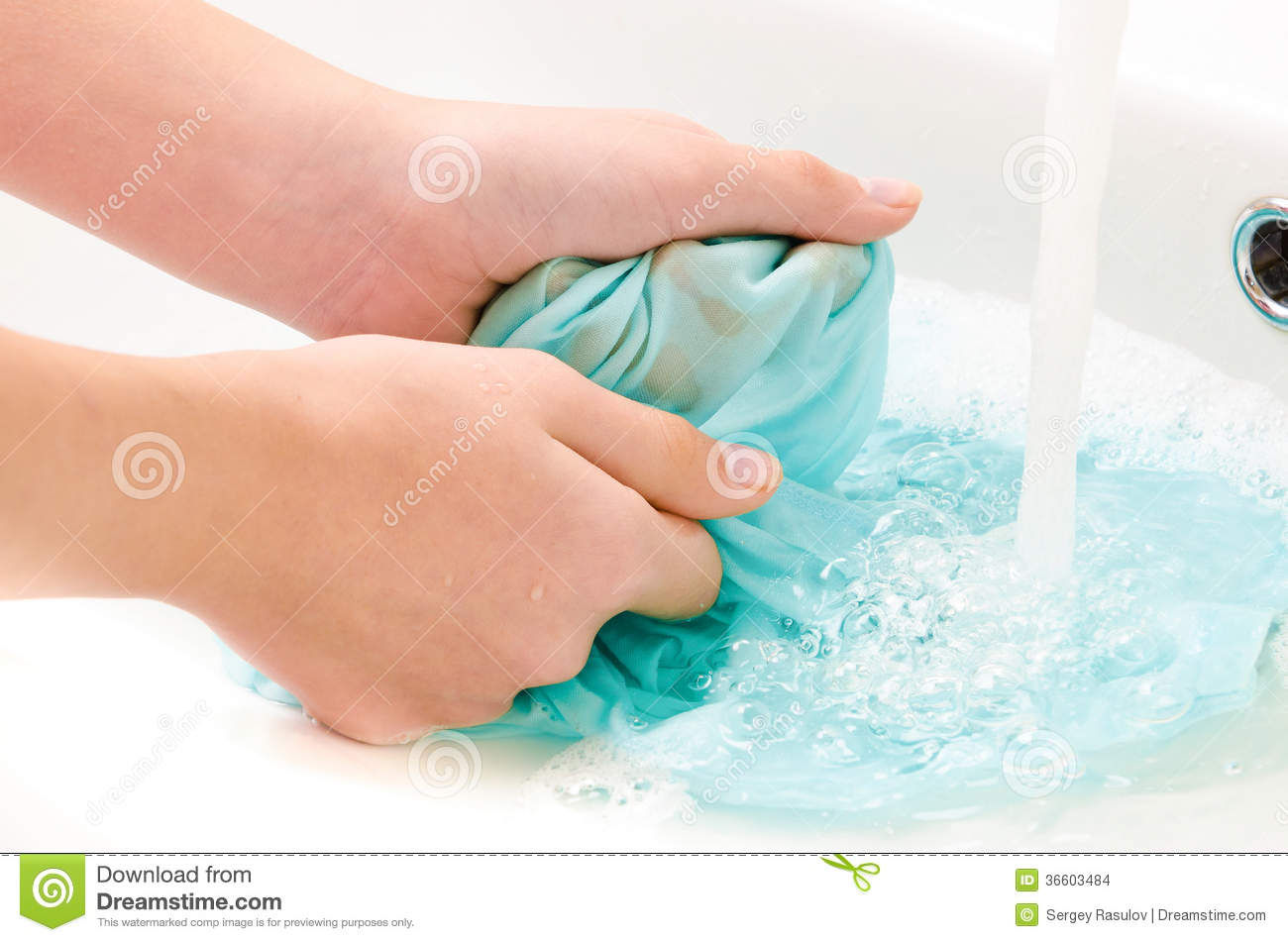 Clothes To Wash Hands Stock Images Image 36603484