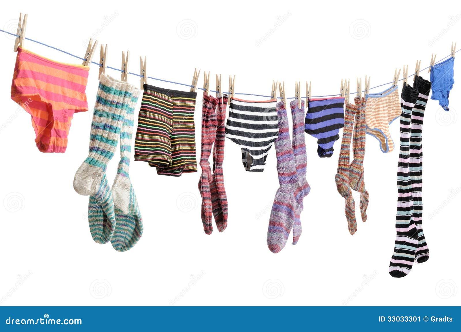 Clothesline Stock Image - Image: 33033301