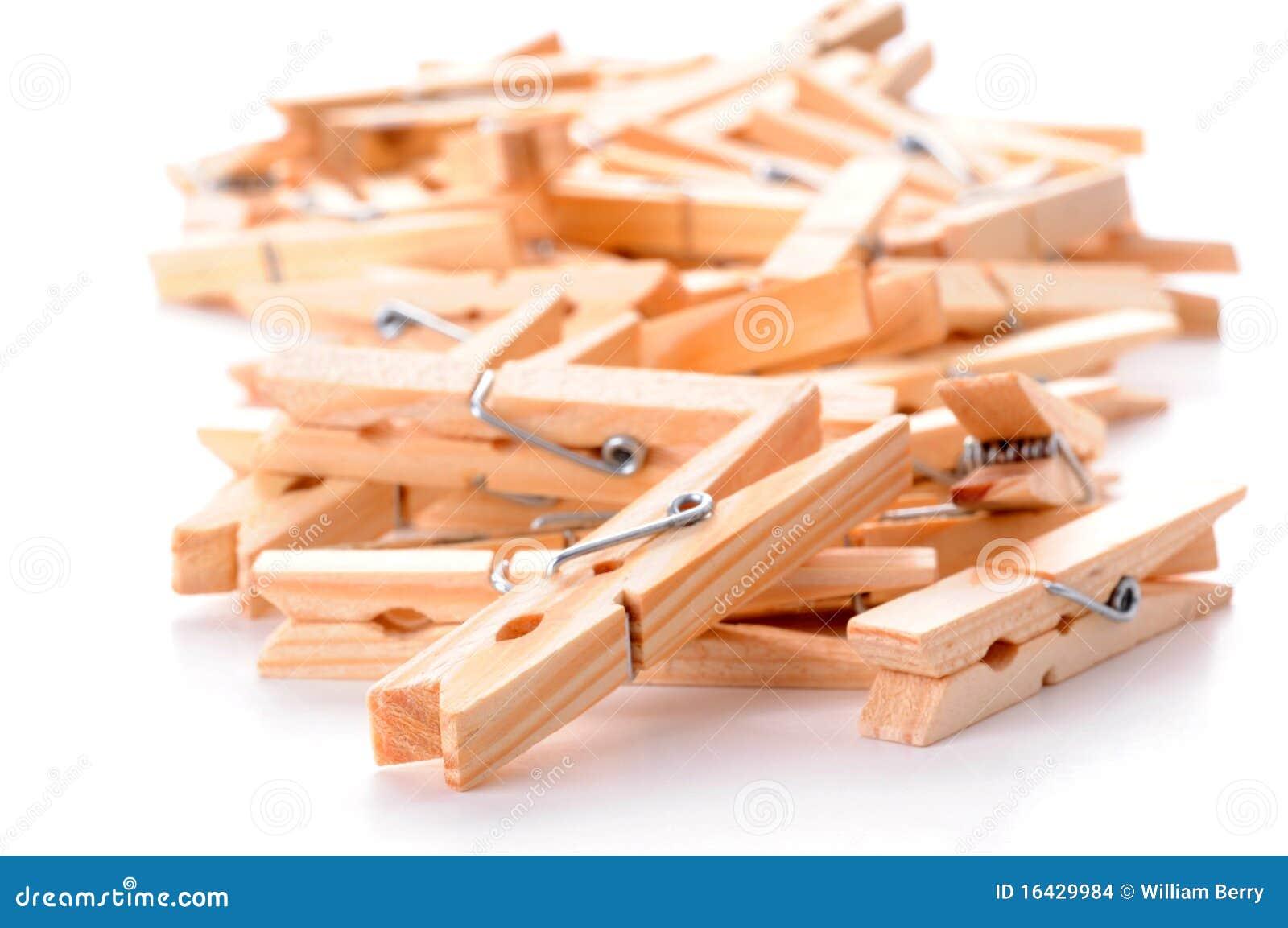 Clothespins деревянные
