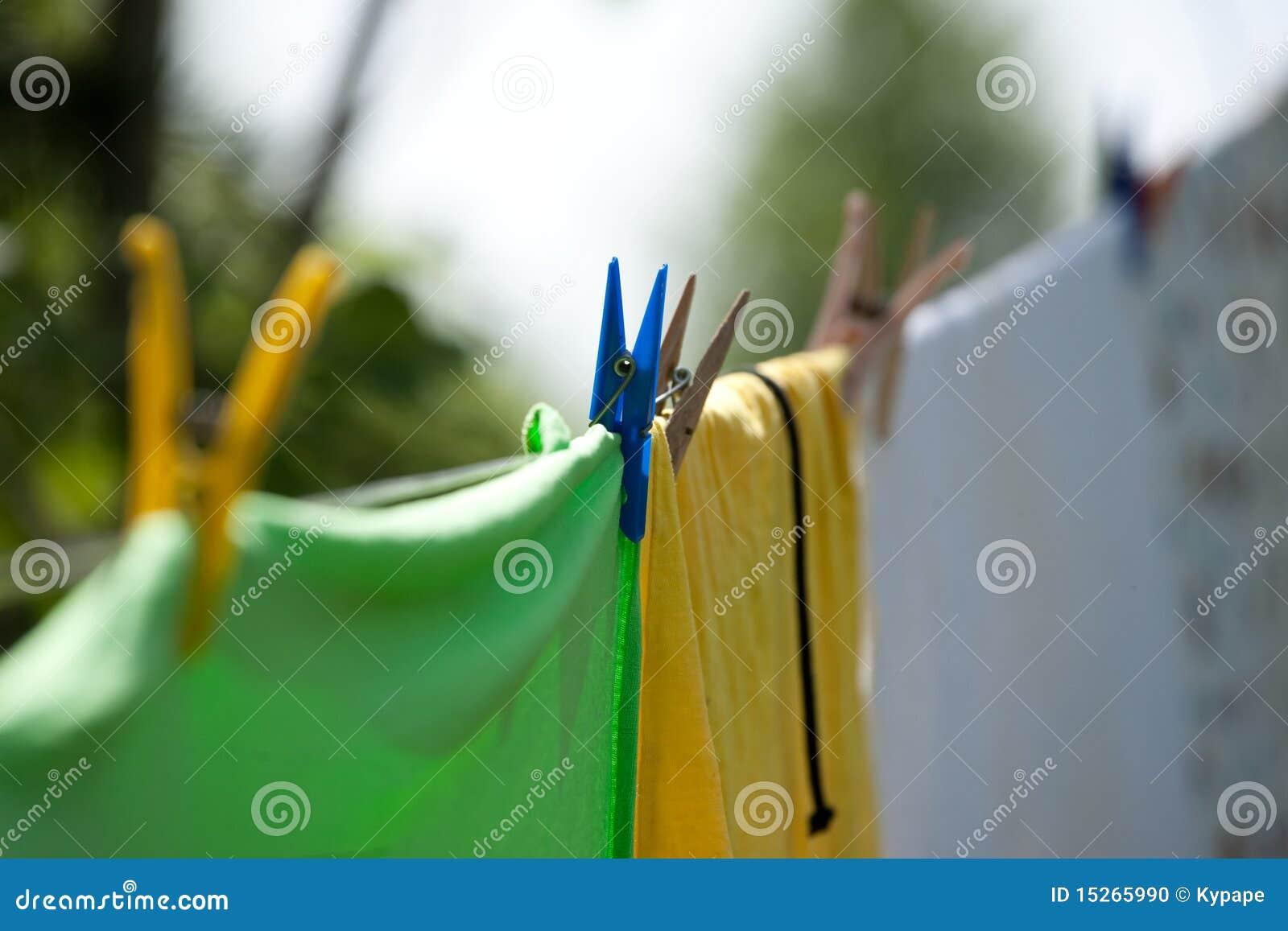 Clothespins цветастые