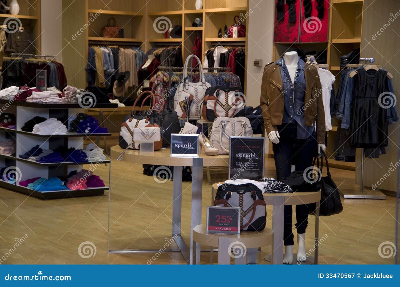 Cowboy clothes store