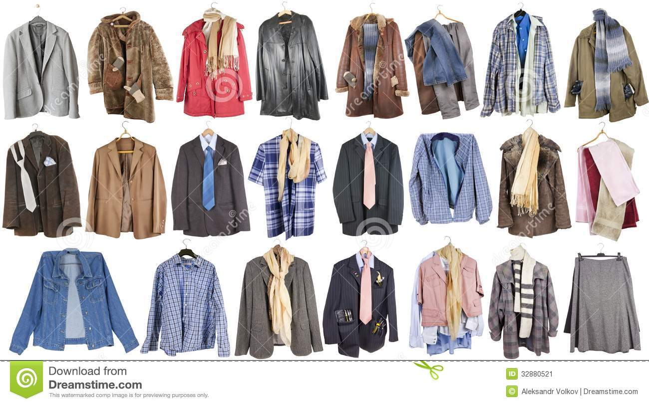 Clothing For Poor People Stock Image Image Of Leather