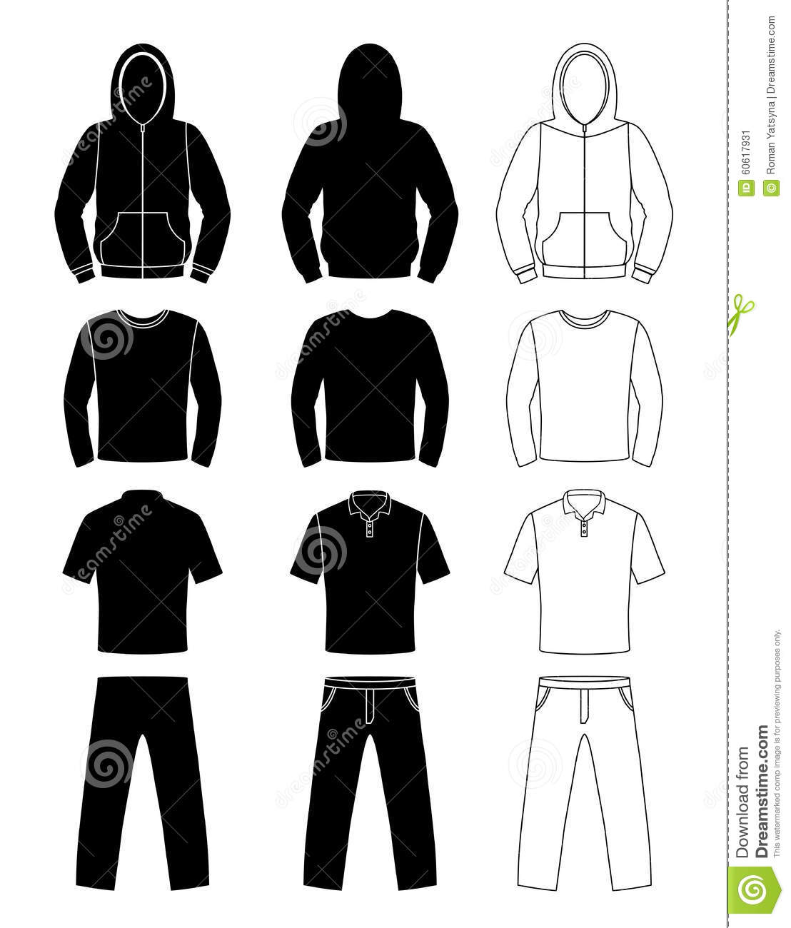 Art Unlimited Sportswear: Clothing Silhouettes, Hoodie, T-shirt And Long Sleeve