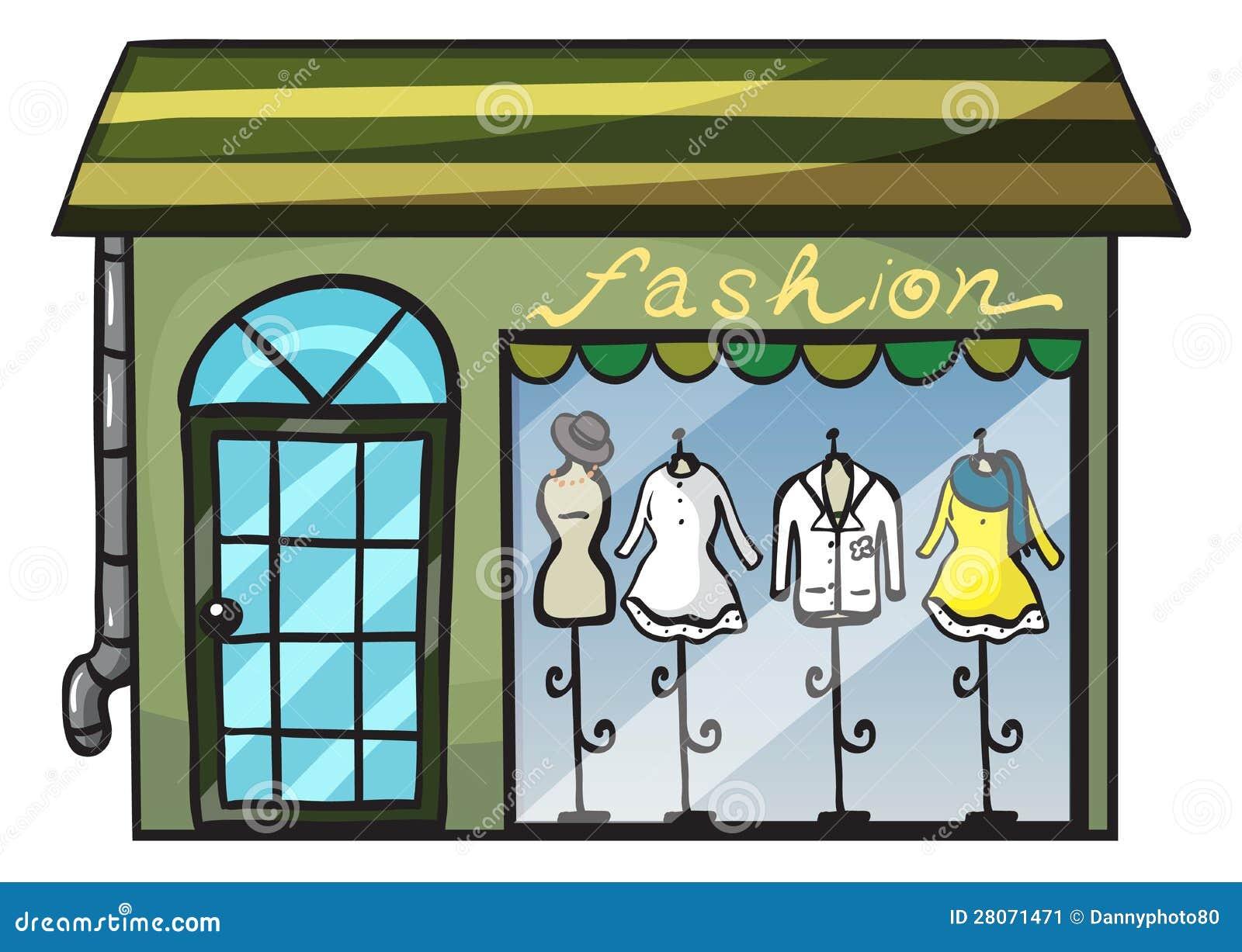 Illustration Fashion Store