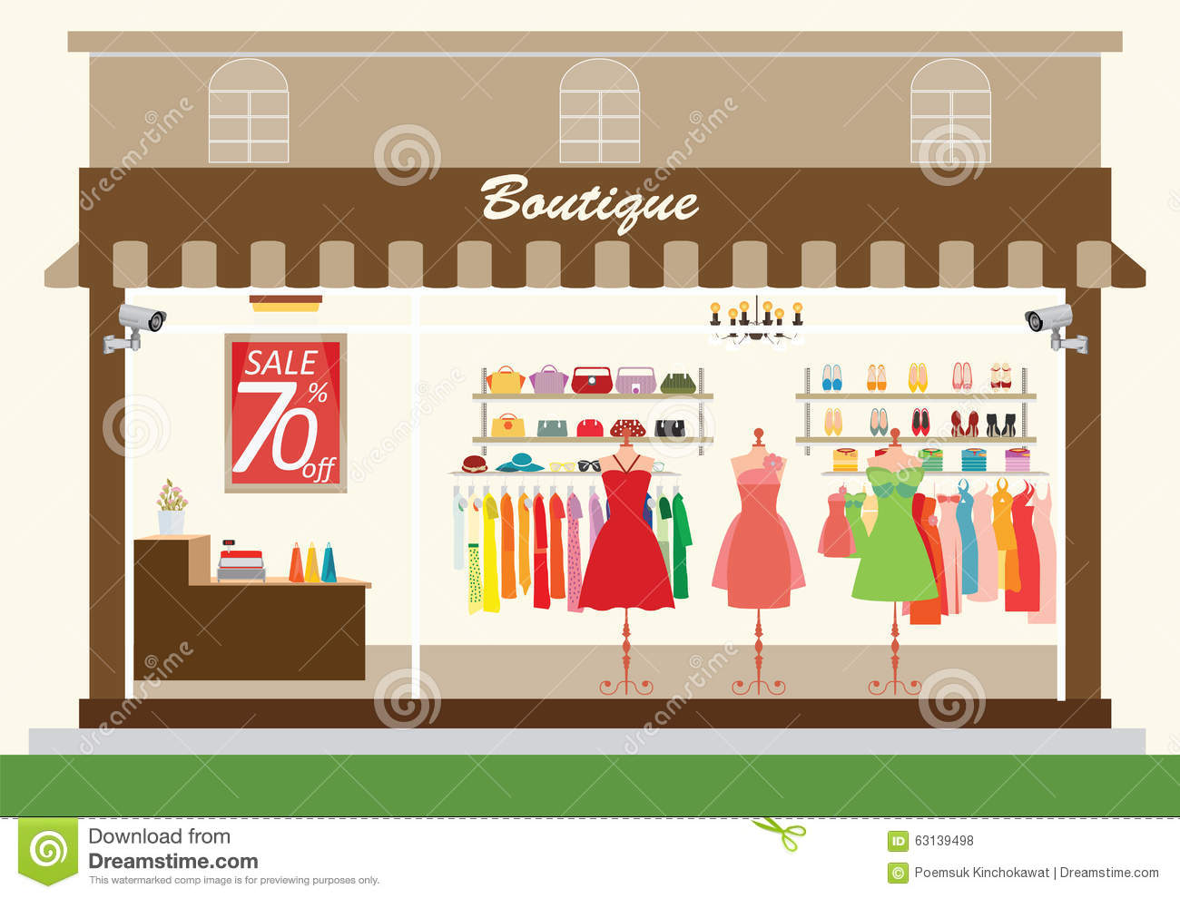http://thumbs.dreamstime.com/z/clothing-store-building-interior-products-shelves-shopping-fashion-bags-shoes-accessories-sale-shopping-vector-63139498.jpg