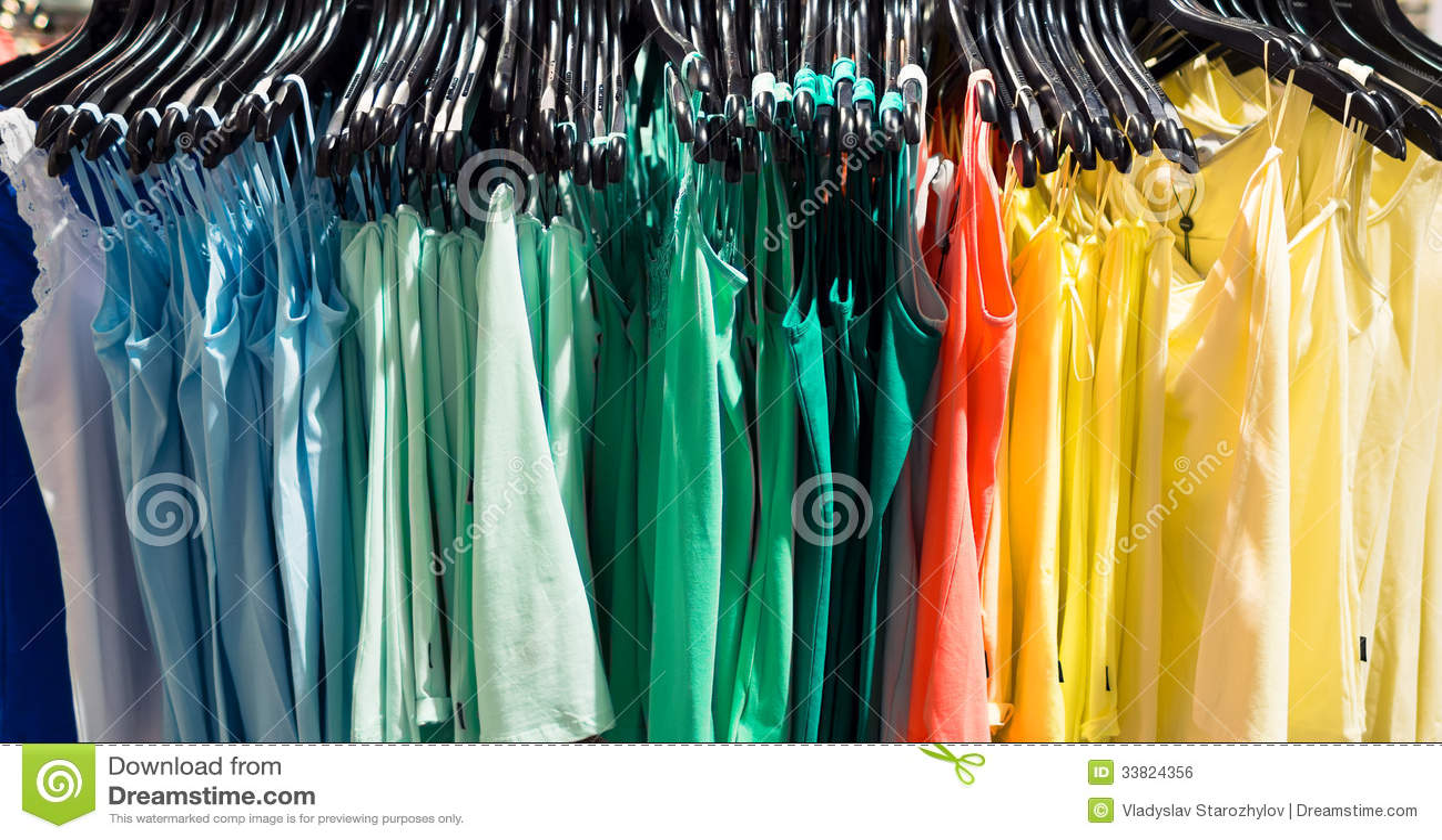 Royalty Free Stock Image: Clothing store