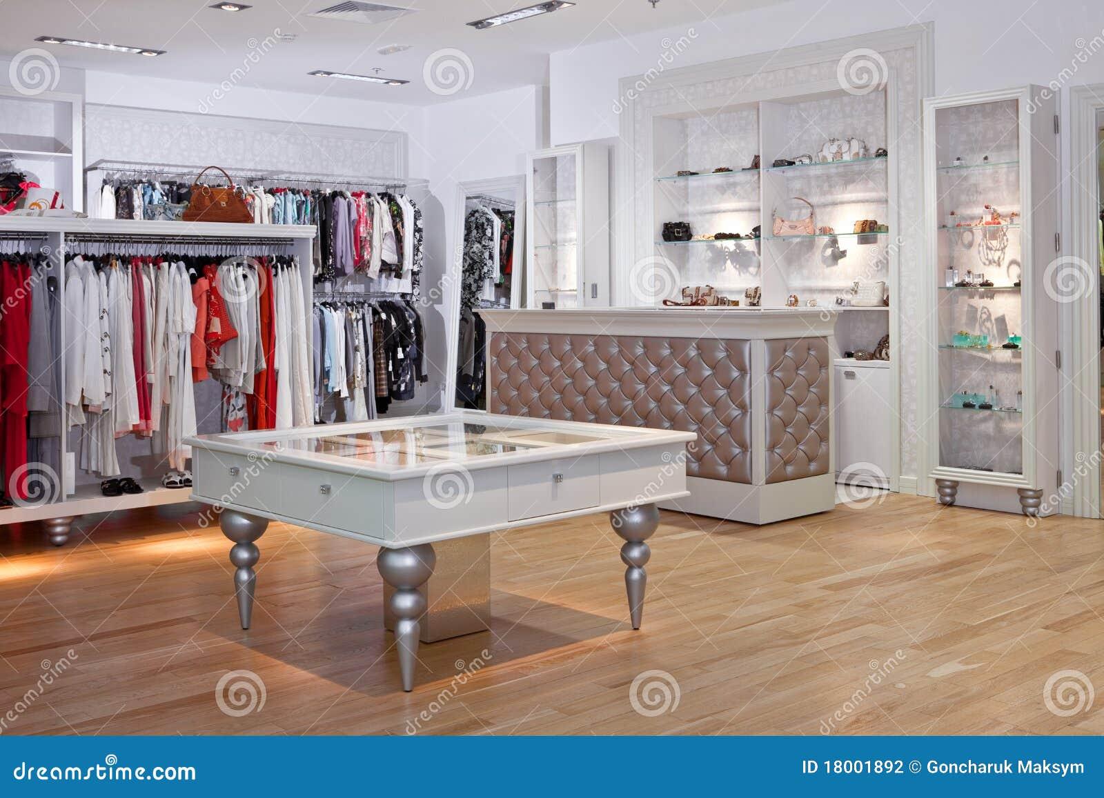 Clothing Store Interior Stock Photo Image Of Shopping