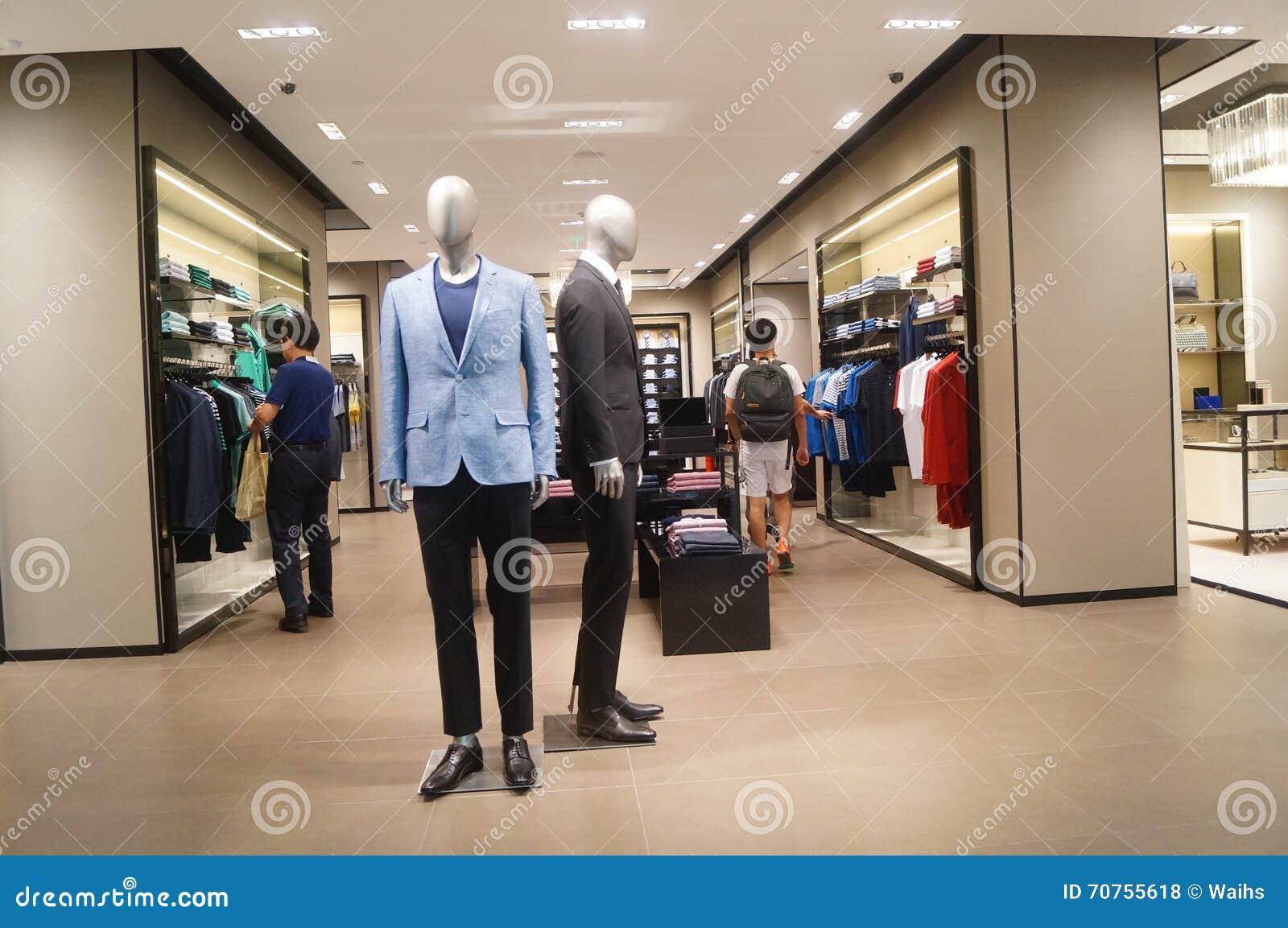 Holidays clothing store