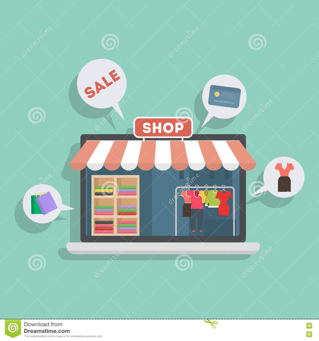 Clothing store credit cards no credit