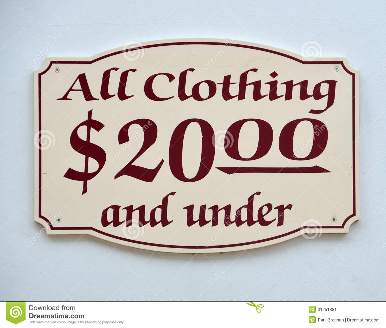 179.99 was pretty expensive! But then we saw a sign that said Trousers 30% Off and underneath it said Trousers $179.99 take an additional 50% off
