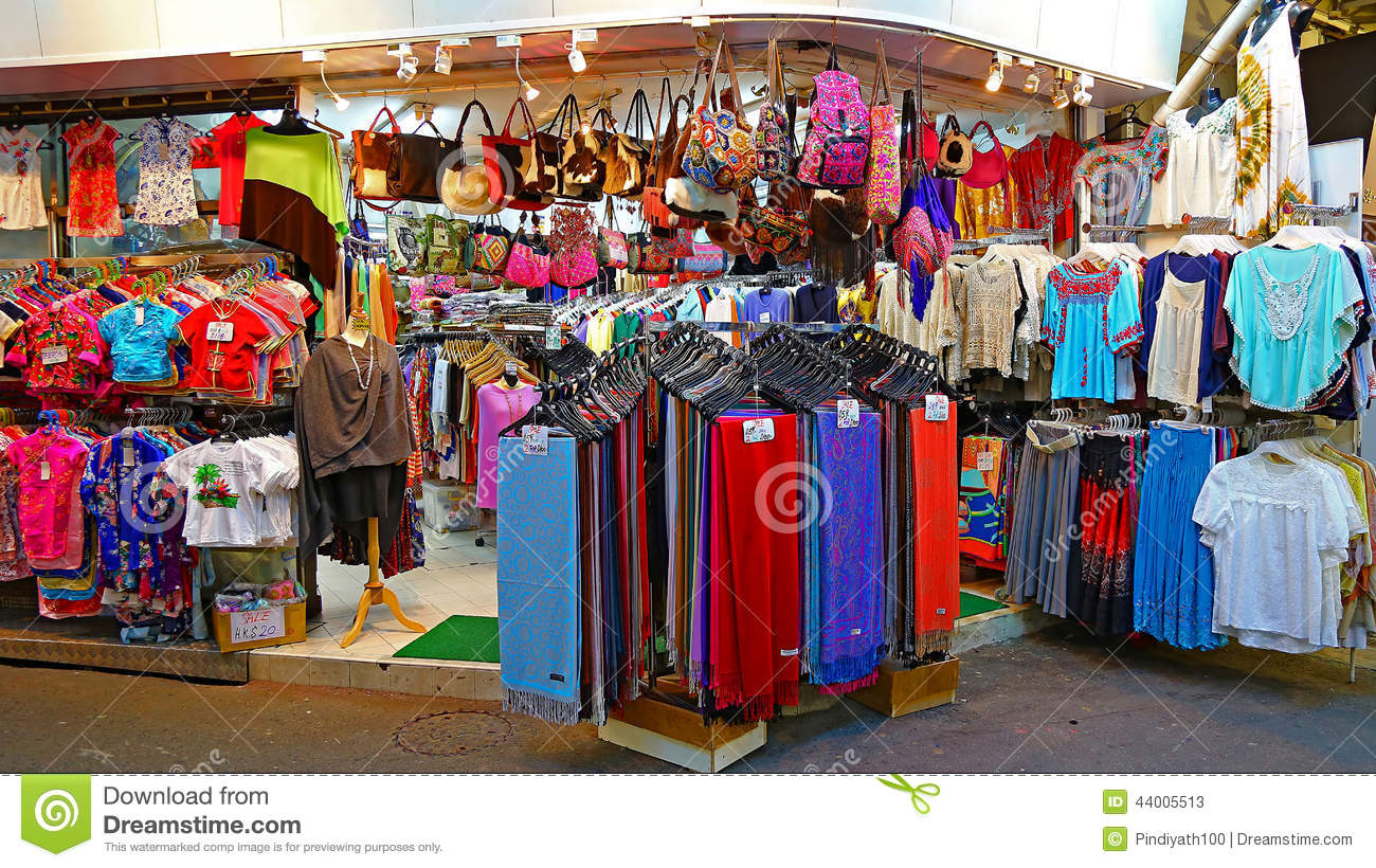 9fee840d3d A store specializes in selling childrens and ladies clothes at stanley  market in hong kong