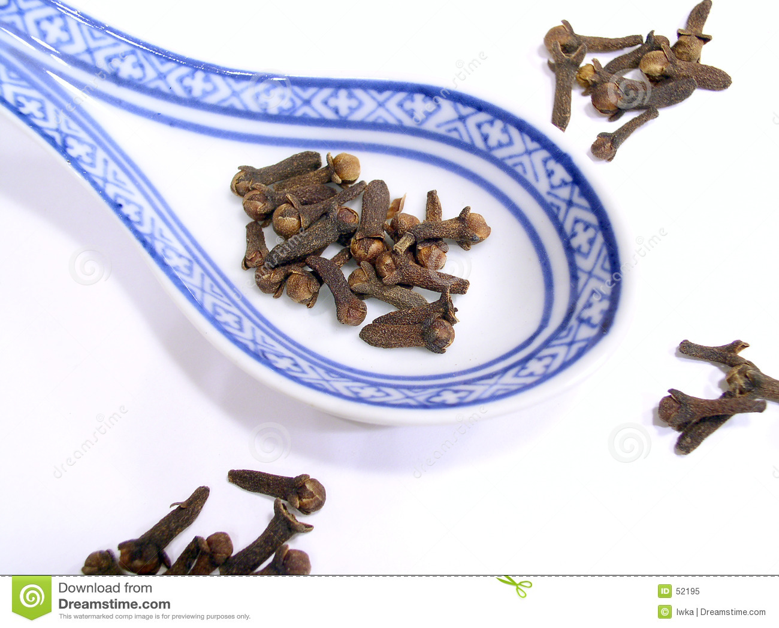 Download Clou de girofle image stock. Image du braun, goût, cuisine - 52195